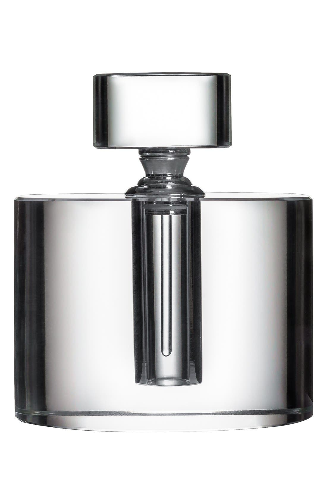 ORREFORS,                             'Ice' Oval Perfume Bottle,                             Main thumbnail 1, color,                             100