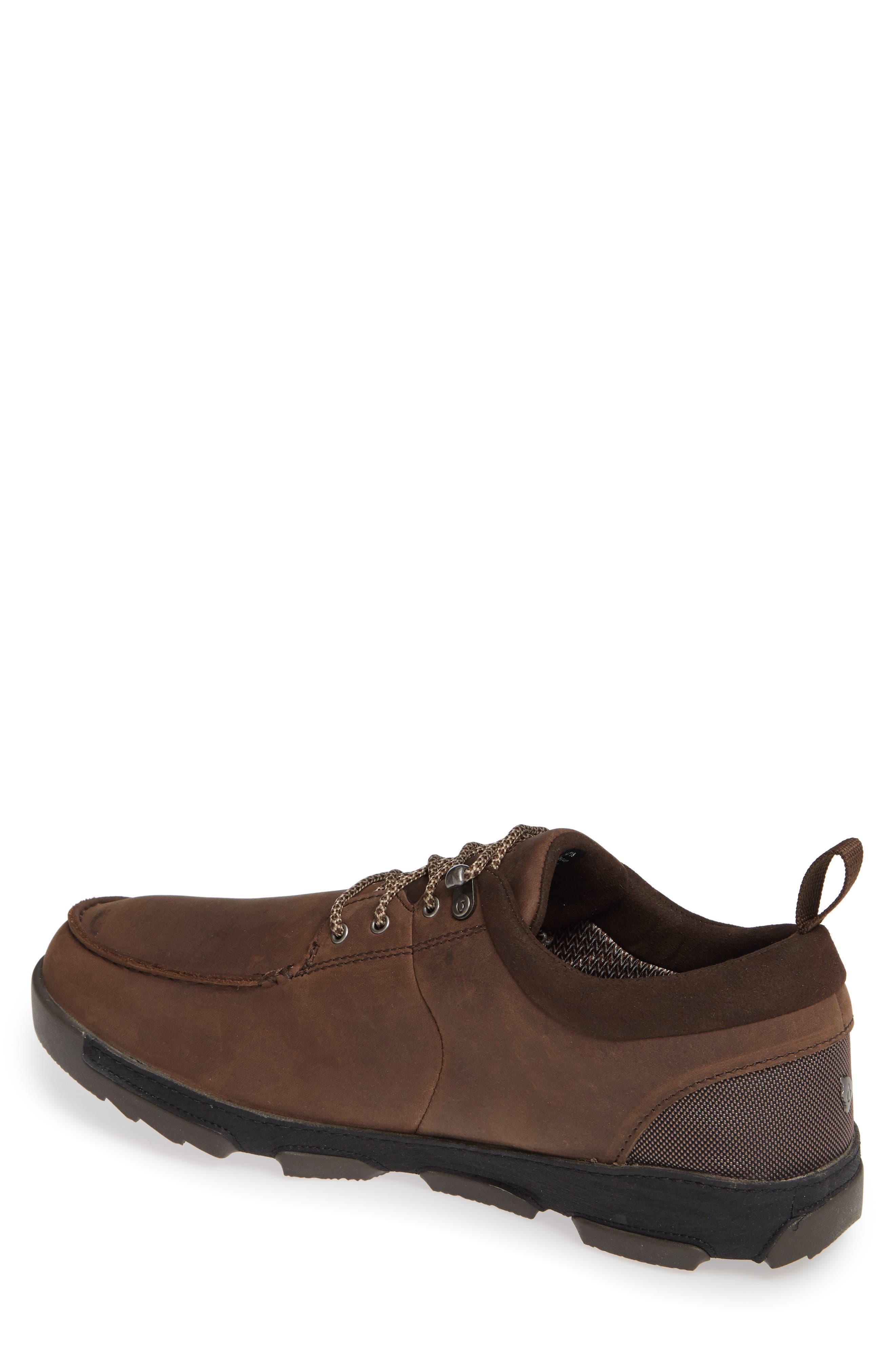 Makoa Waterproof Shoe,                             Alternate thumbnail 2, color,                             ESPRESSO/ BLACK LEATHER
