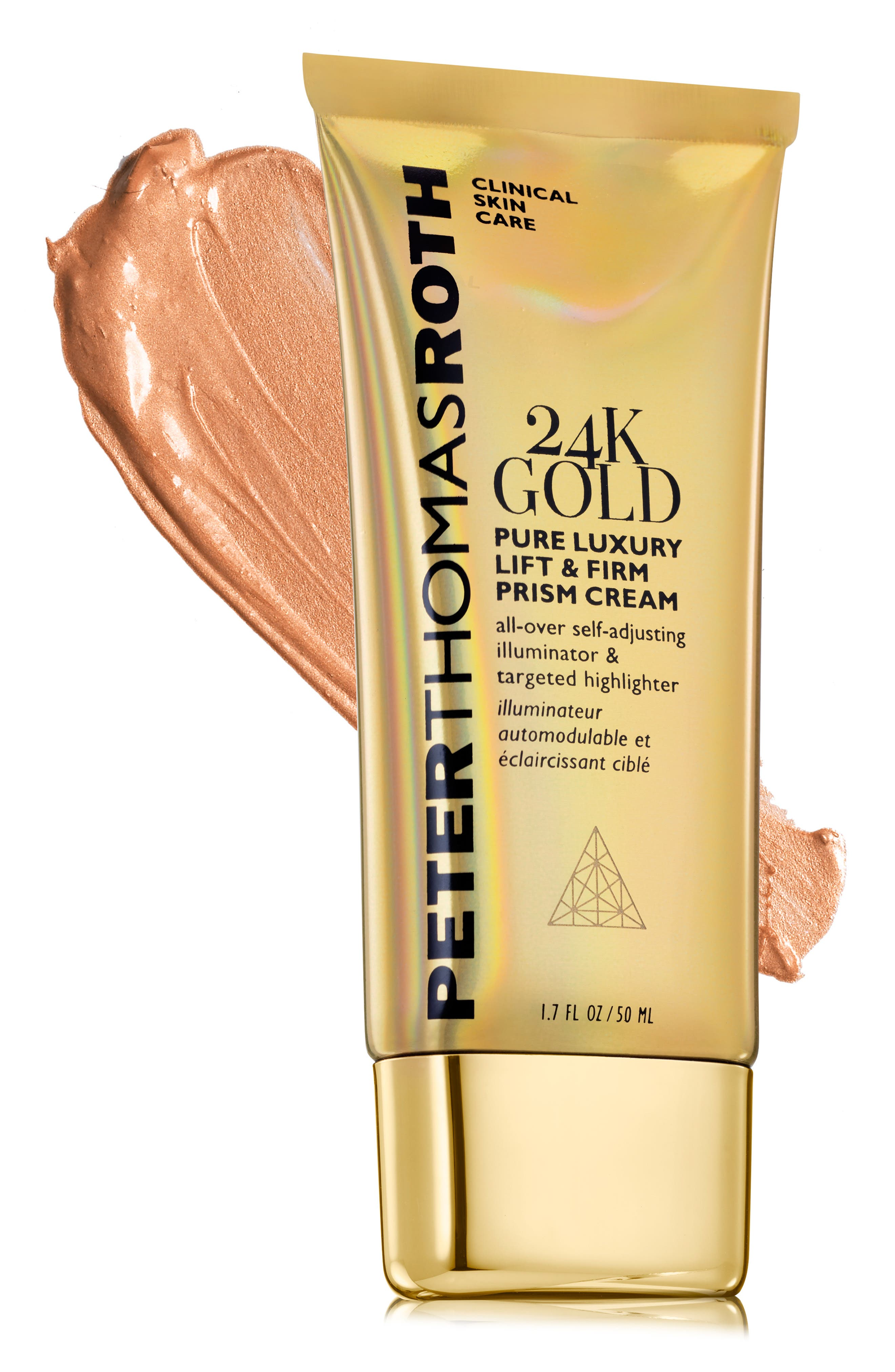 24K Gold Pure Luxury Lift & Firm Prism Cream,                             Alternate thumbnail 2, color,                             NO COLOR