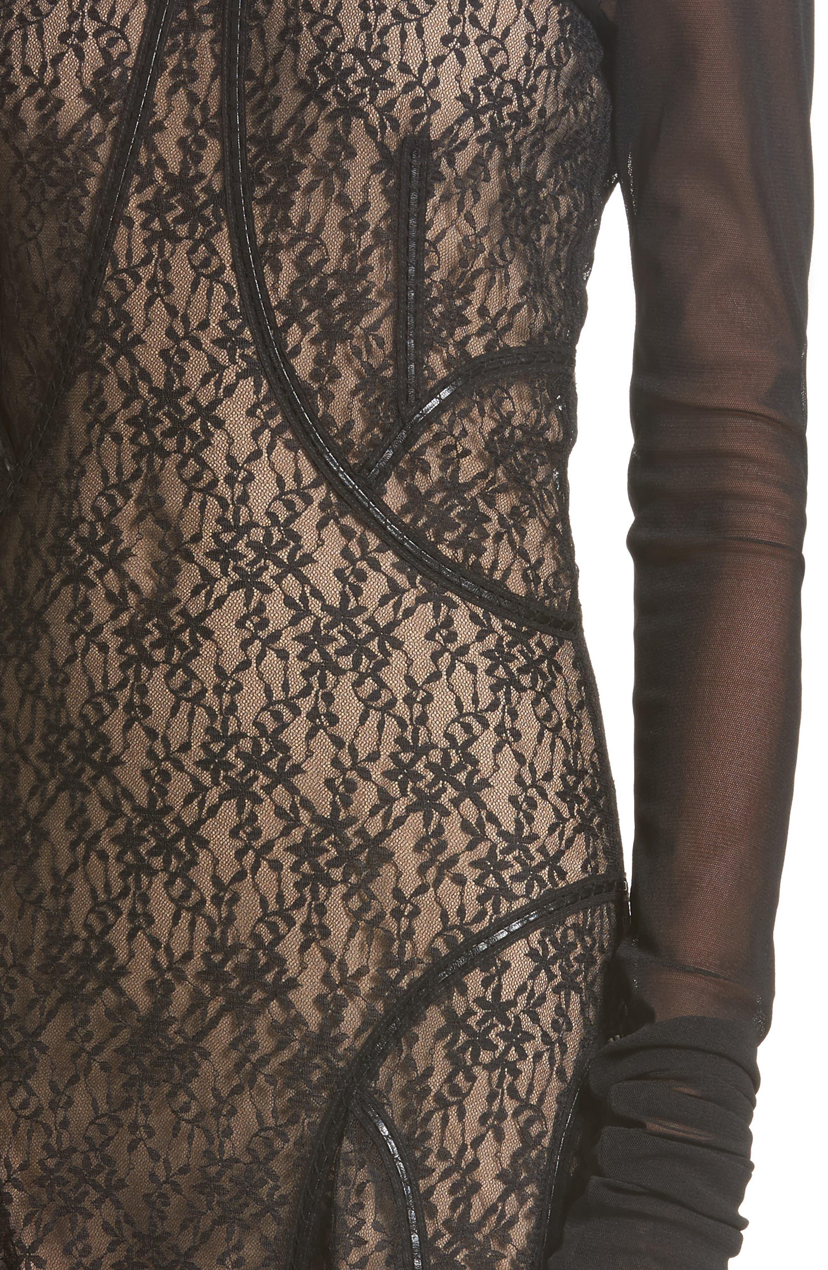 Lace Dress,                             Alternate thumbnail 4, color,