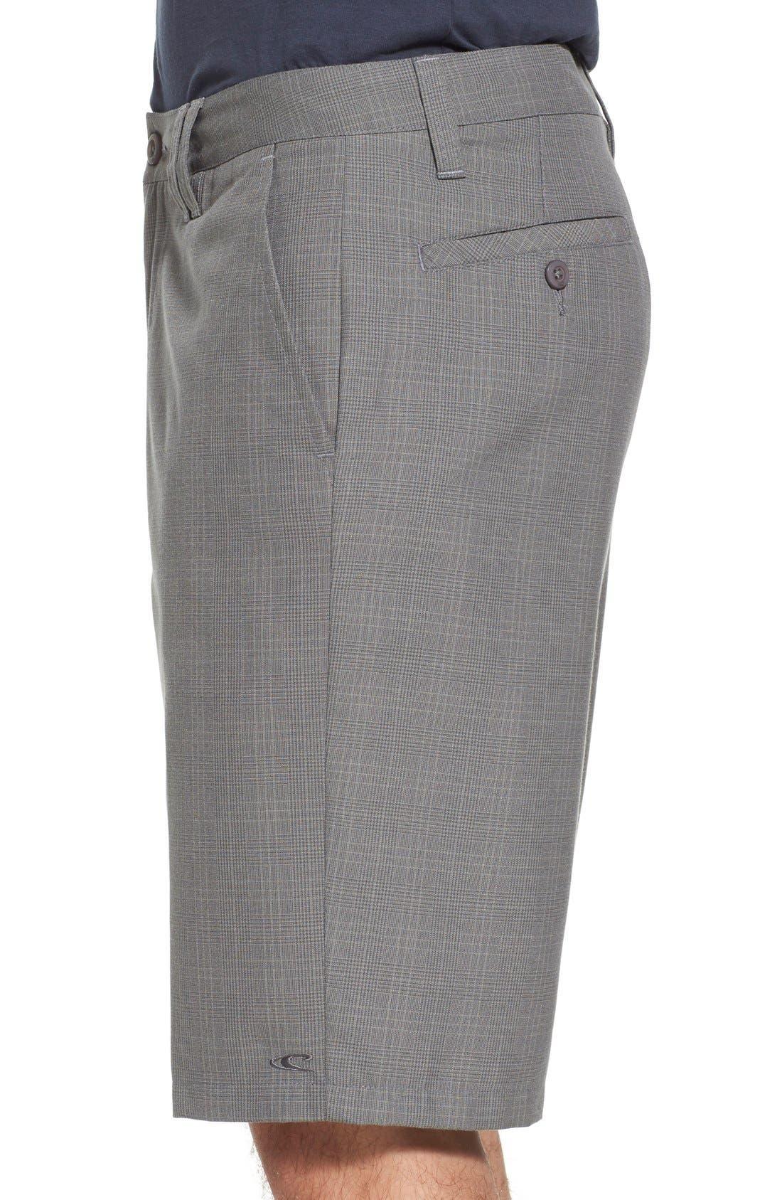 'Delta Plaid' Chino Shorts,                             Alternate thumbnail 17, color,