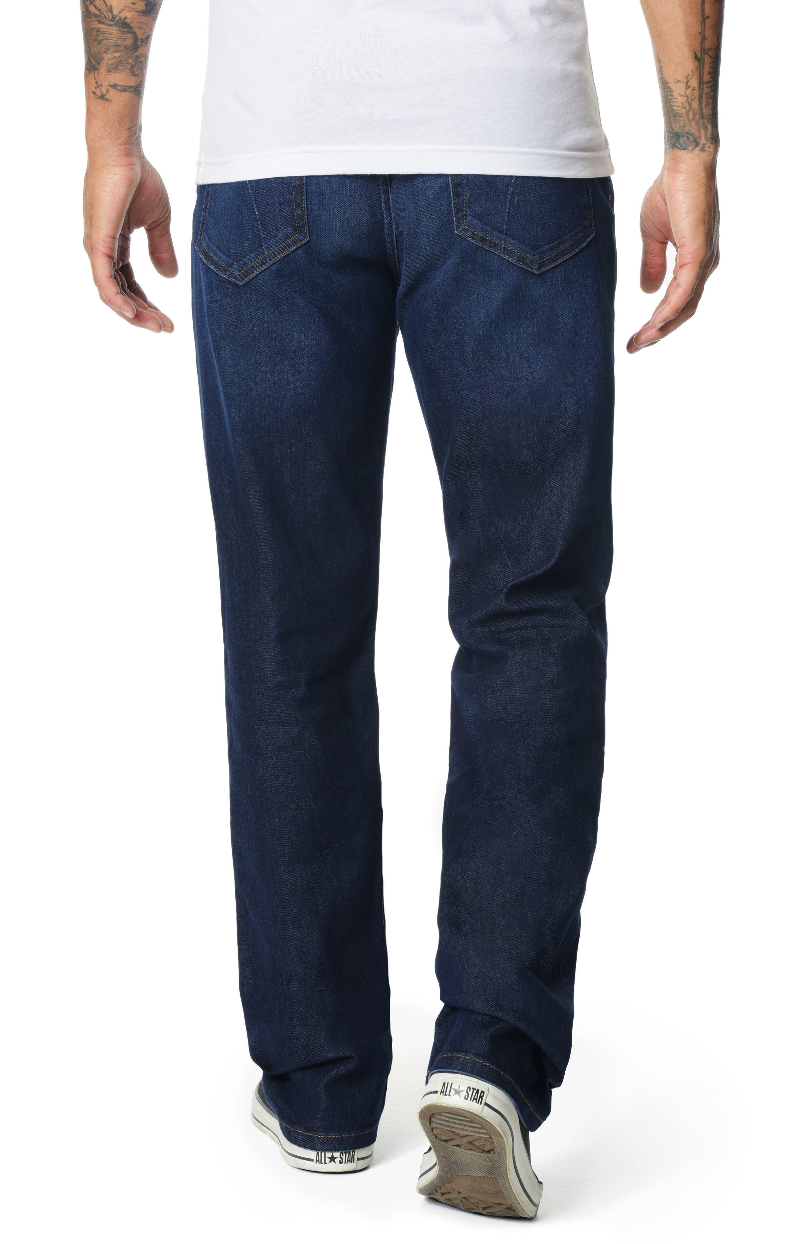 Classic Straight Leg Jeans,                             Alternate thumbnail 2, color,                             JORDAN