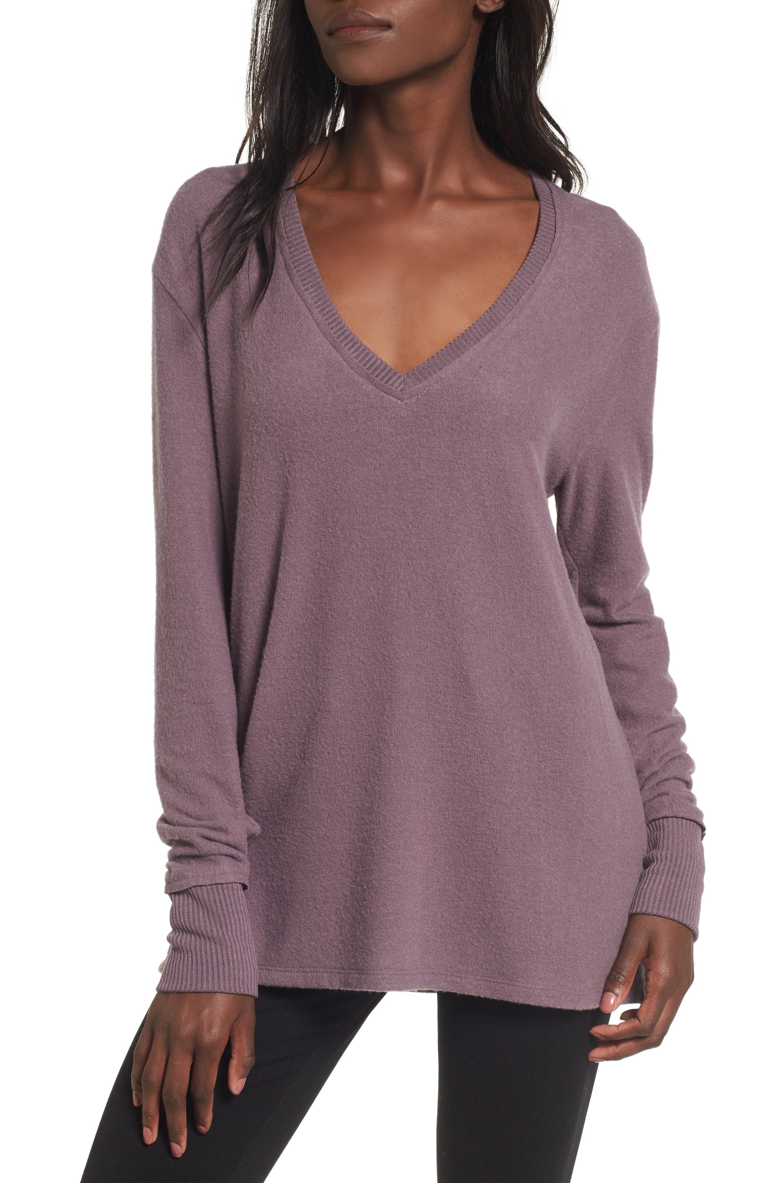 V-Neck Pullover,                             Main thumbnail 7, color,