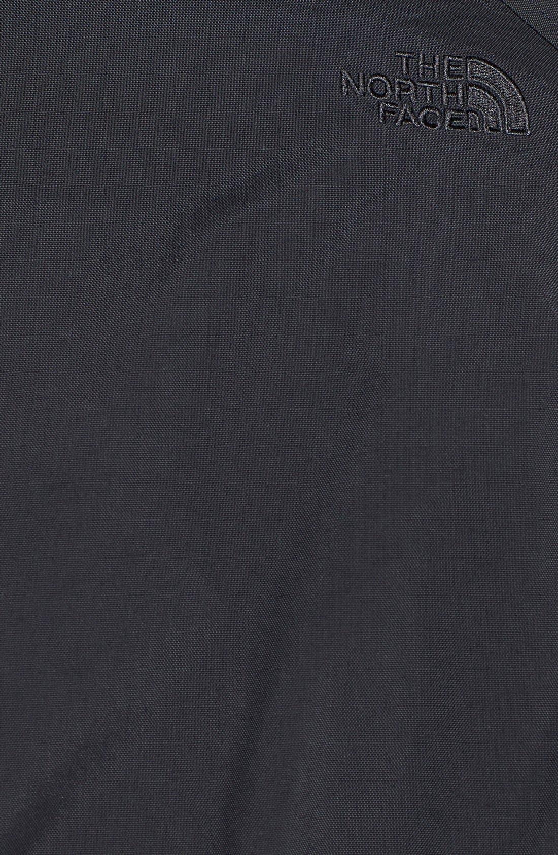 'Juneau' Faux Fur Trim Hooded Down Jacket,                             Alternate thumbnail 3, color,                             001