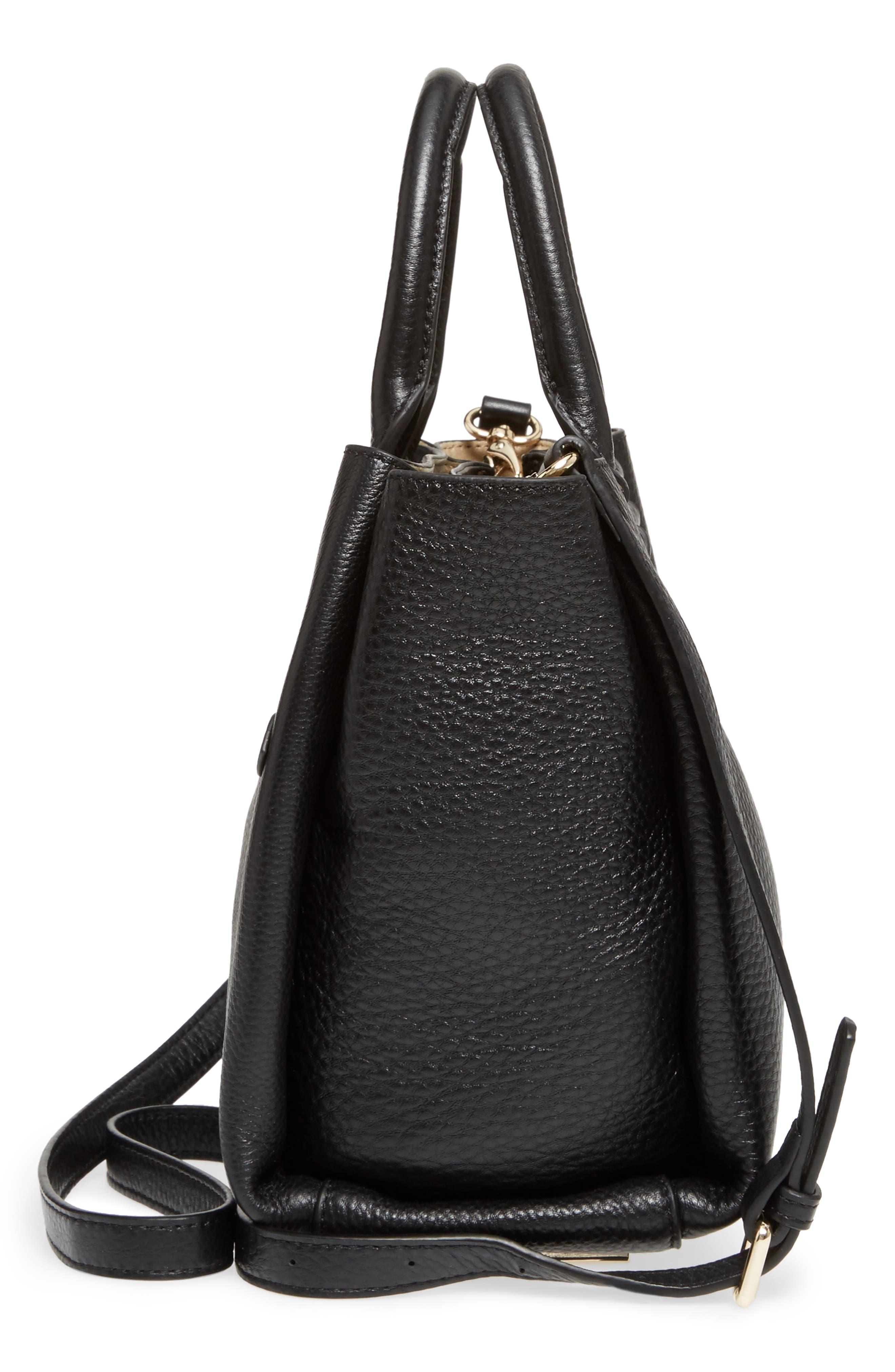 Céline Dion Small Adagio Leather Satchel,                             Alternate thumbnail 21, color,