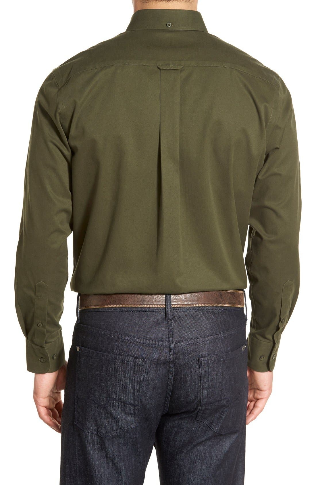 Smartcare<sup>™</sup> Traditional Fit Twill Boat Shirt,                             Alternate thumbnail 53, color,