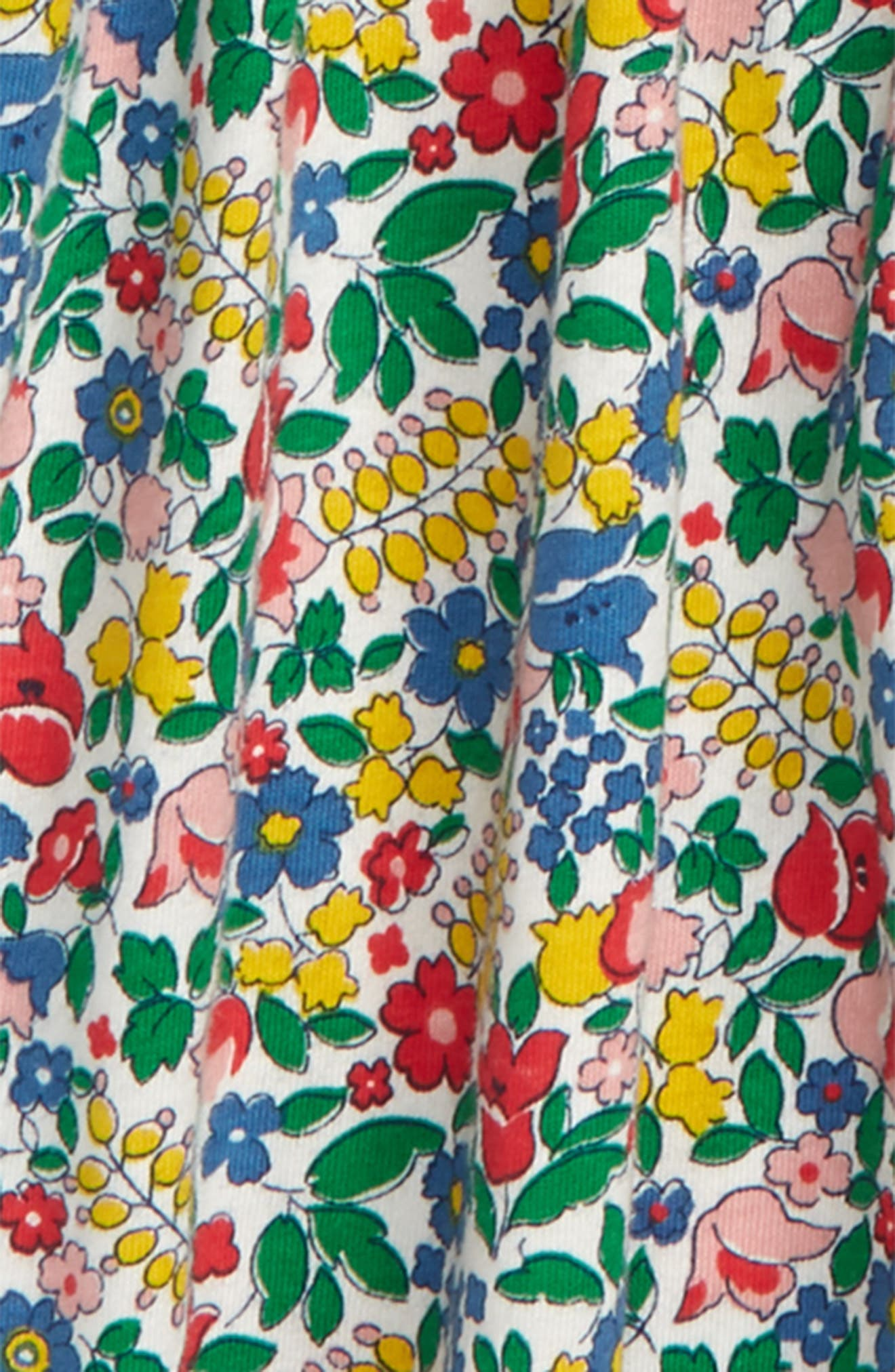 Pretty Collared Dress,                             Alternate thumbnail 2, color,                             FLOWERBED