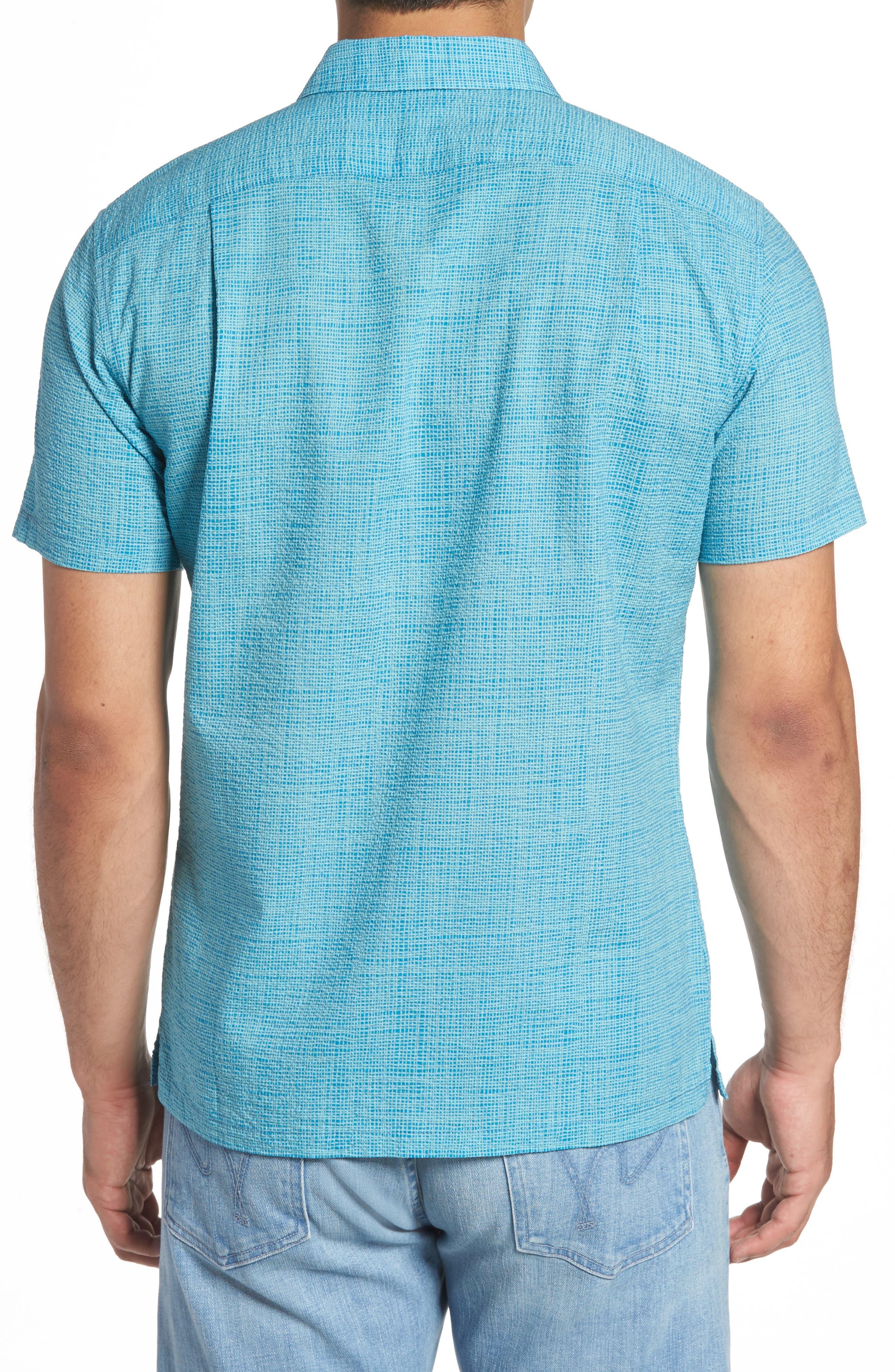 Net Worth Slim Fit Camp Shirt,                             Alternate thumbnail 2, color,                             400