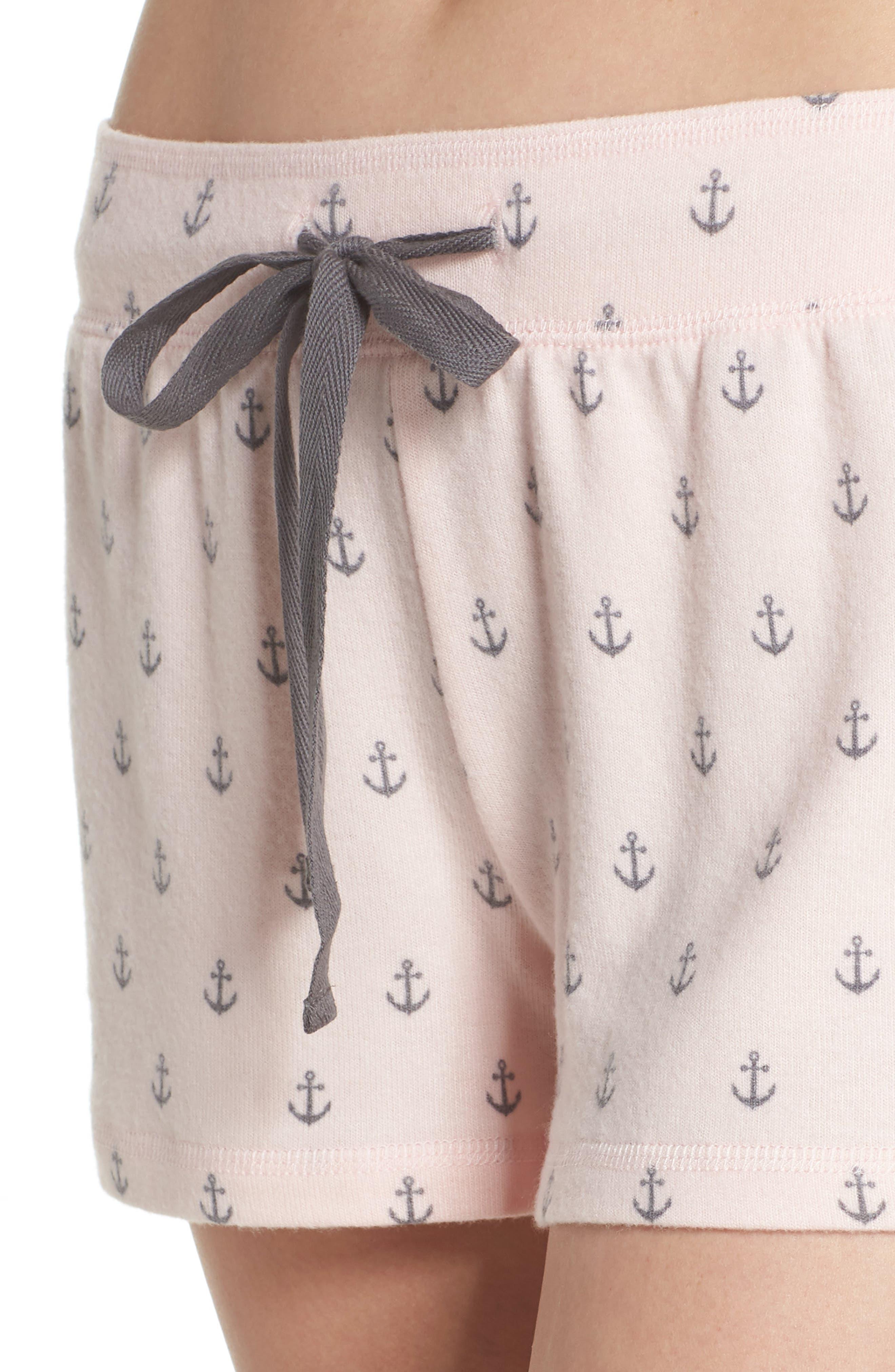 Peachy Pajama Shorts,                             Alternate thumbnail 12, color,
