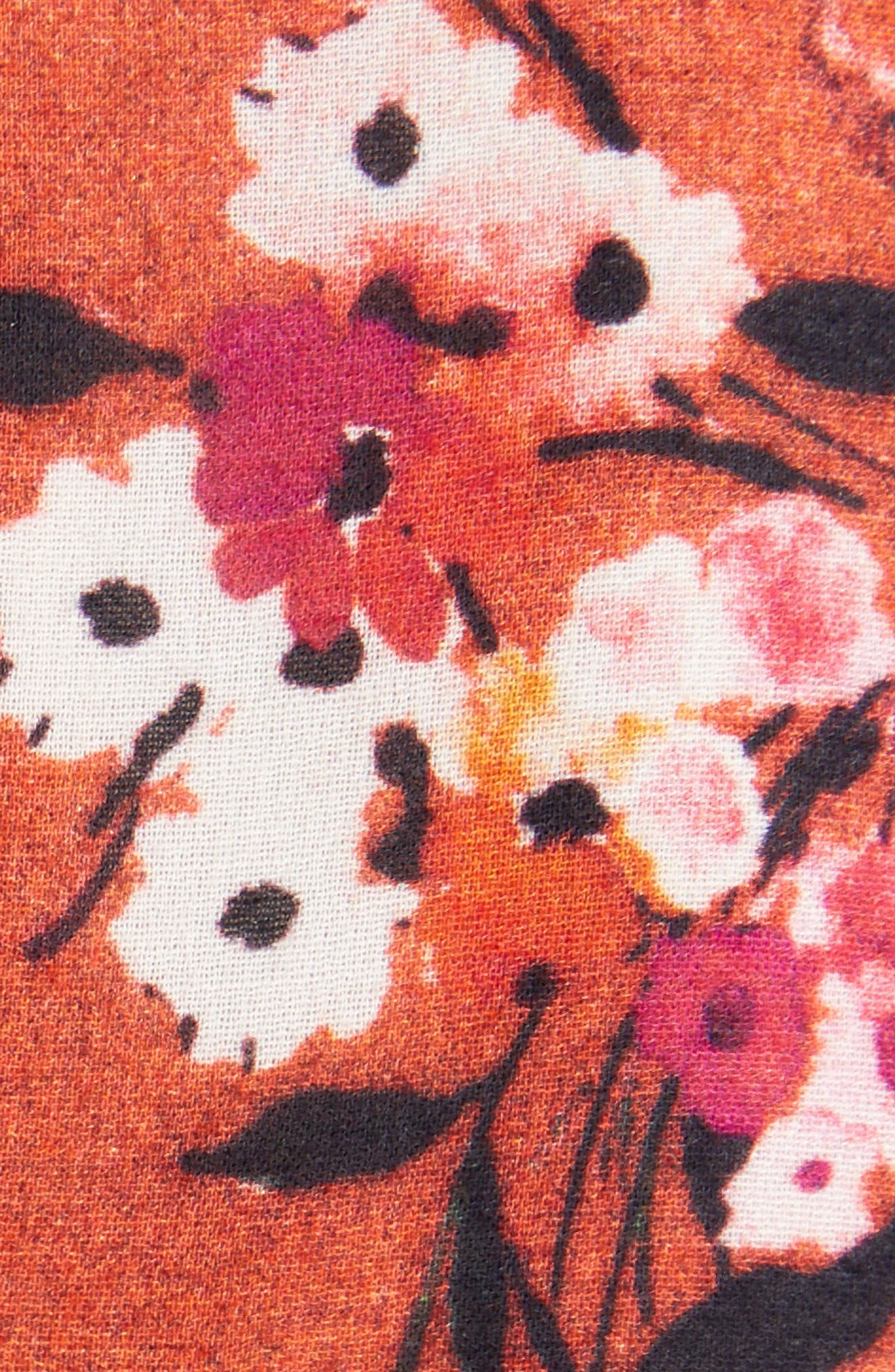Jorny Print Shift Dress,                             Alternate thumbnail 5, color,                             001