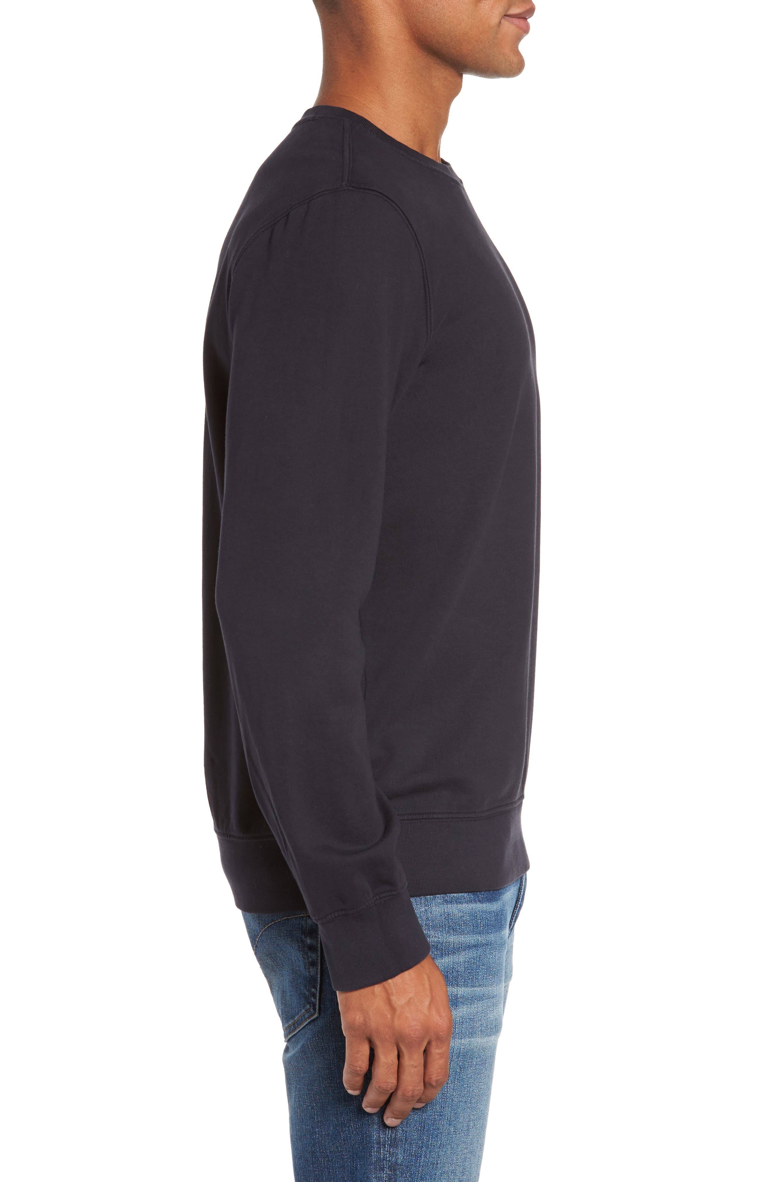 French Terry Sweatshirt,                             Alternate thumbnail 9, color,