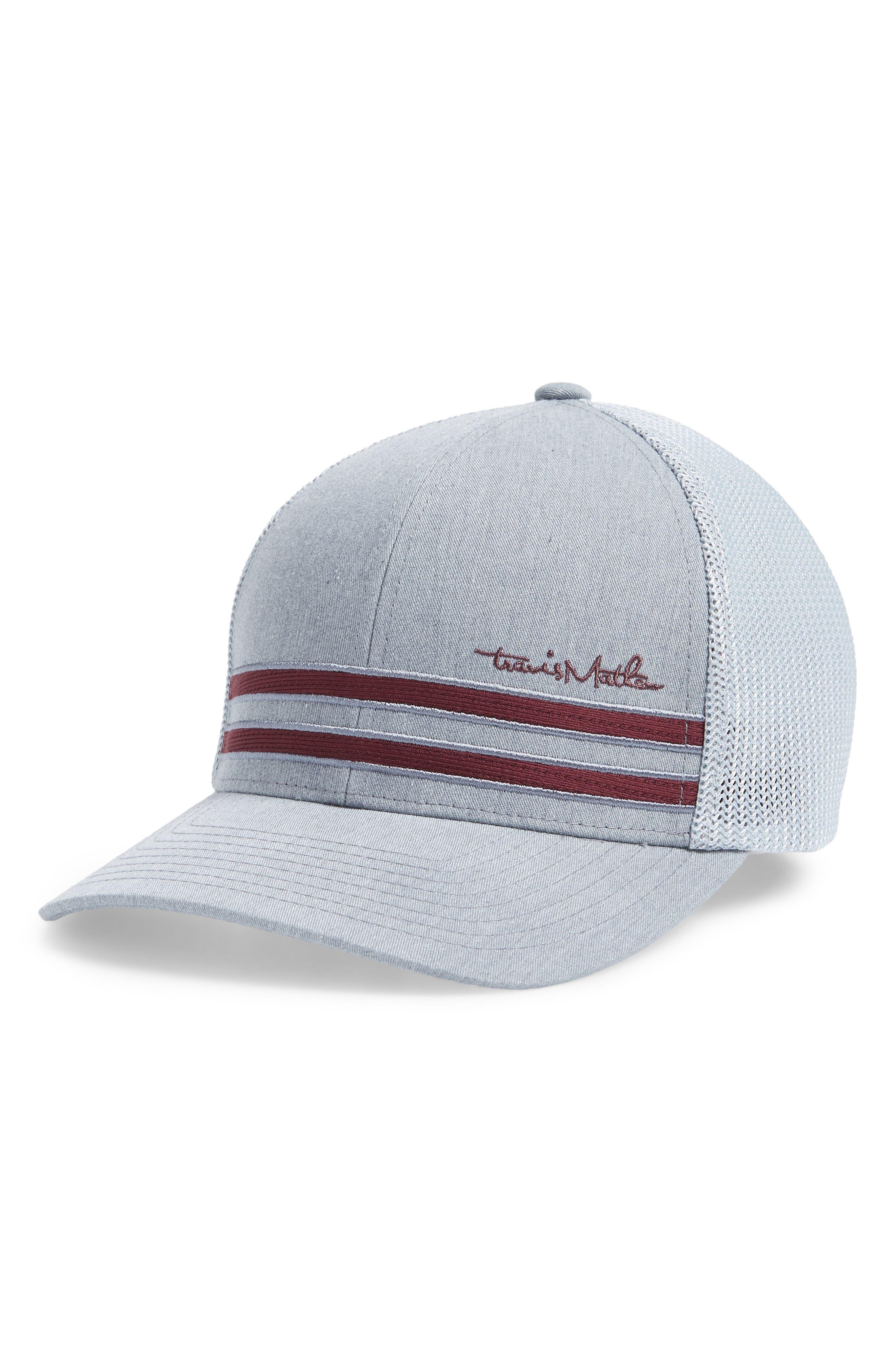 Swammy Mesh Ball Cap,                         Main,                         color, HEATHER GREY