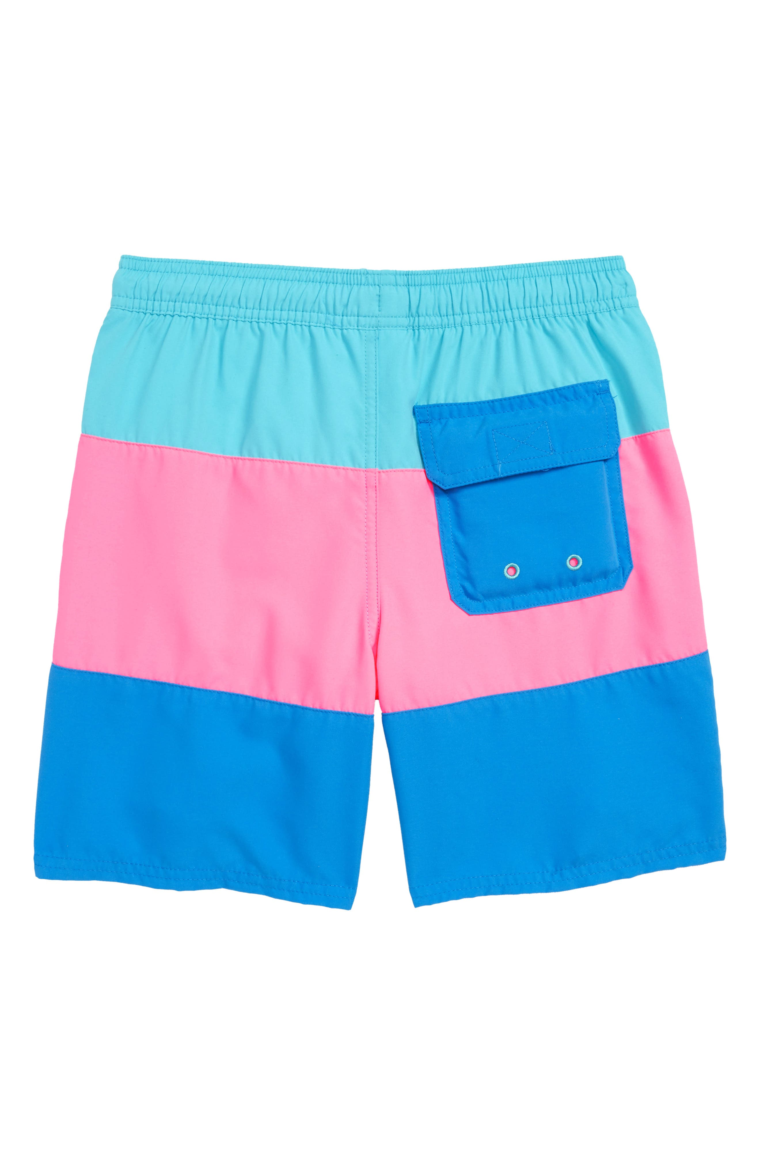 Chappy Pieced Rough Seas Swim Trunks,                             Alternate thumbnail 2, color,                             440