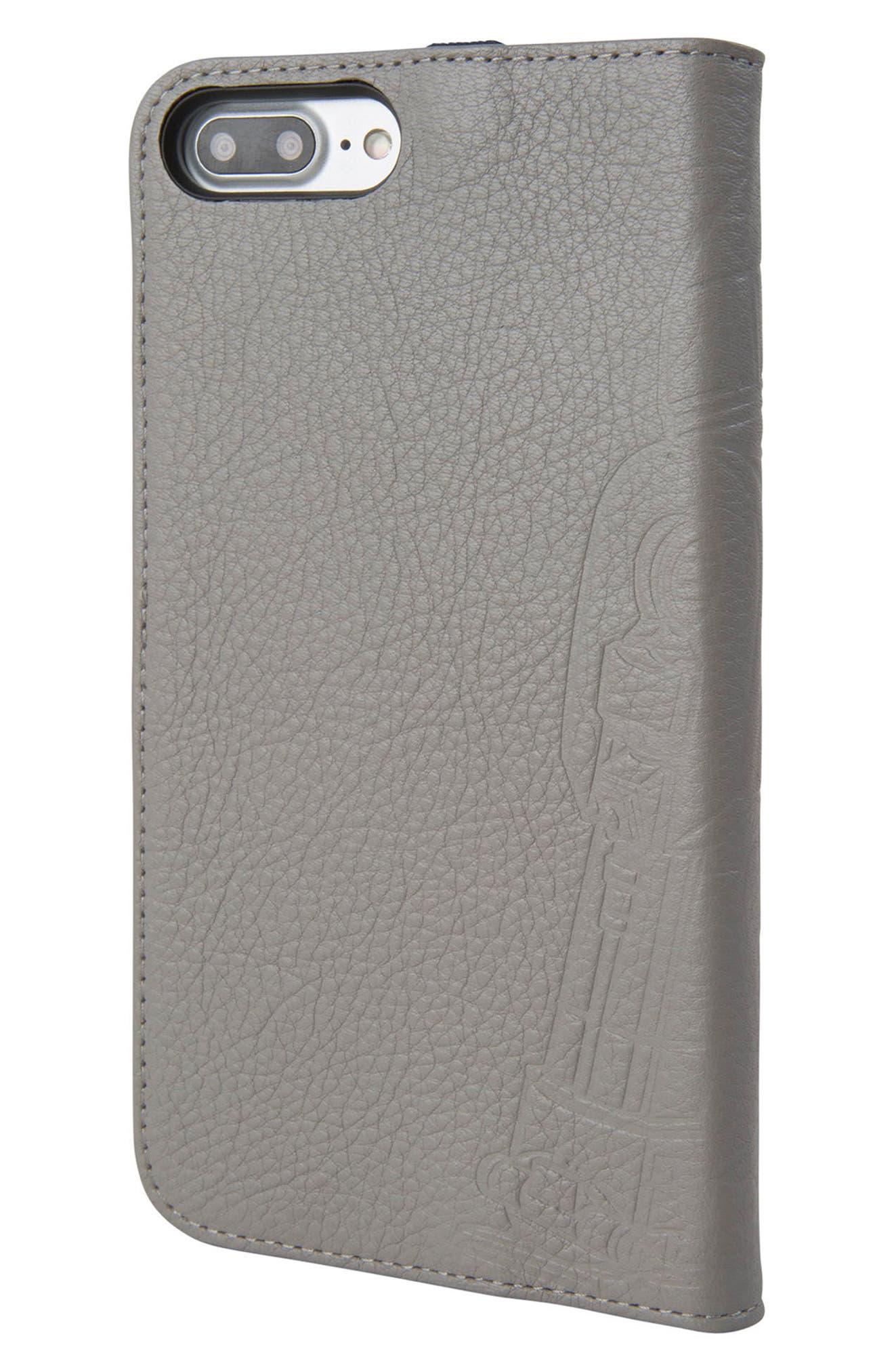 R2-D2 iPhone 8 Plus Wallet Case,                             Alternate thumbnail 3, color,                             036