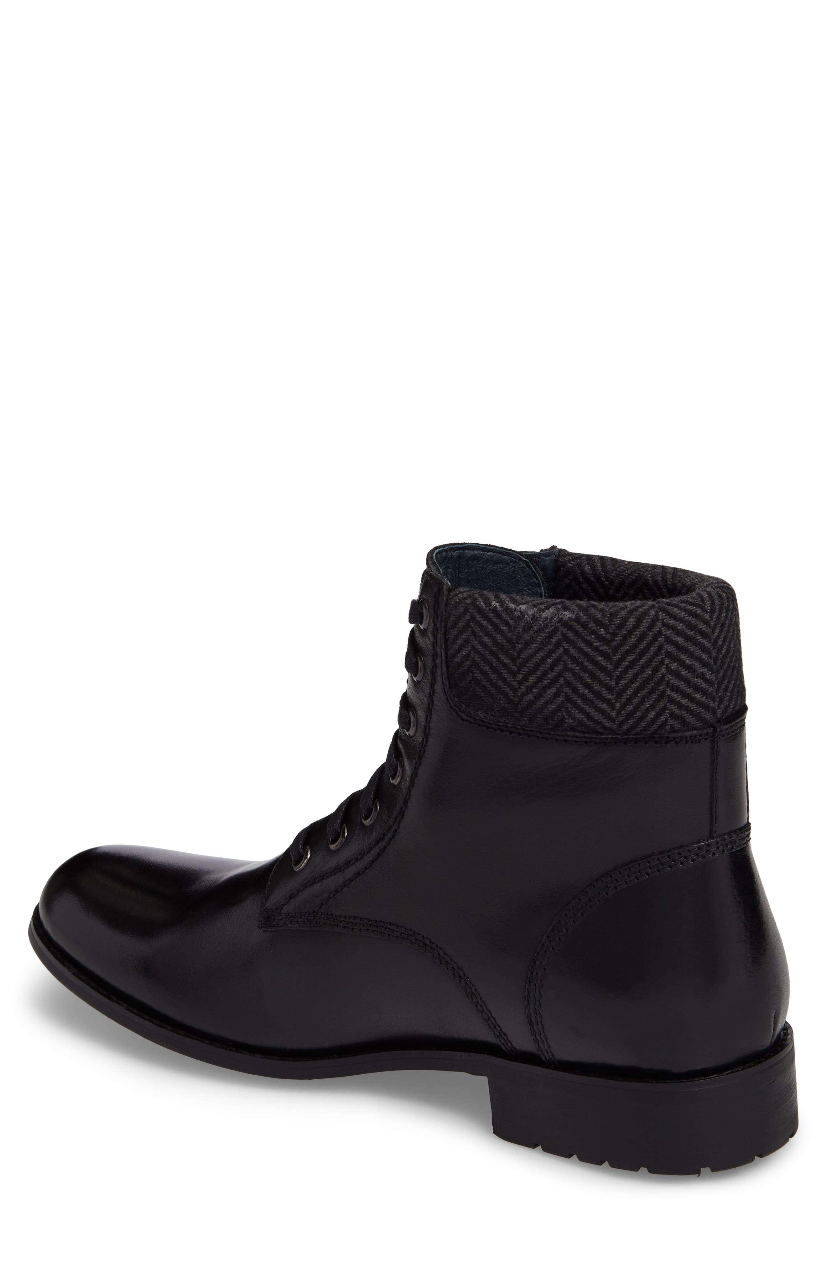 Saar Plain Toe Boot,                             Alternate thumbnail 2, color,                             001