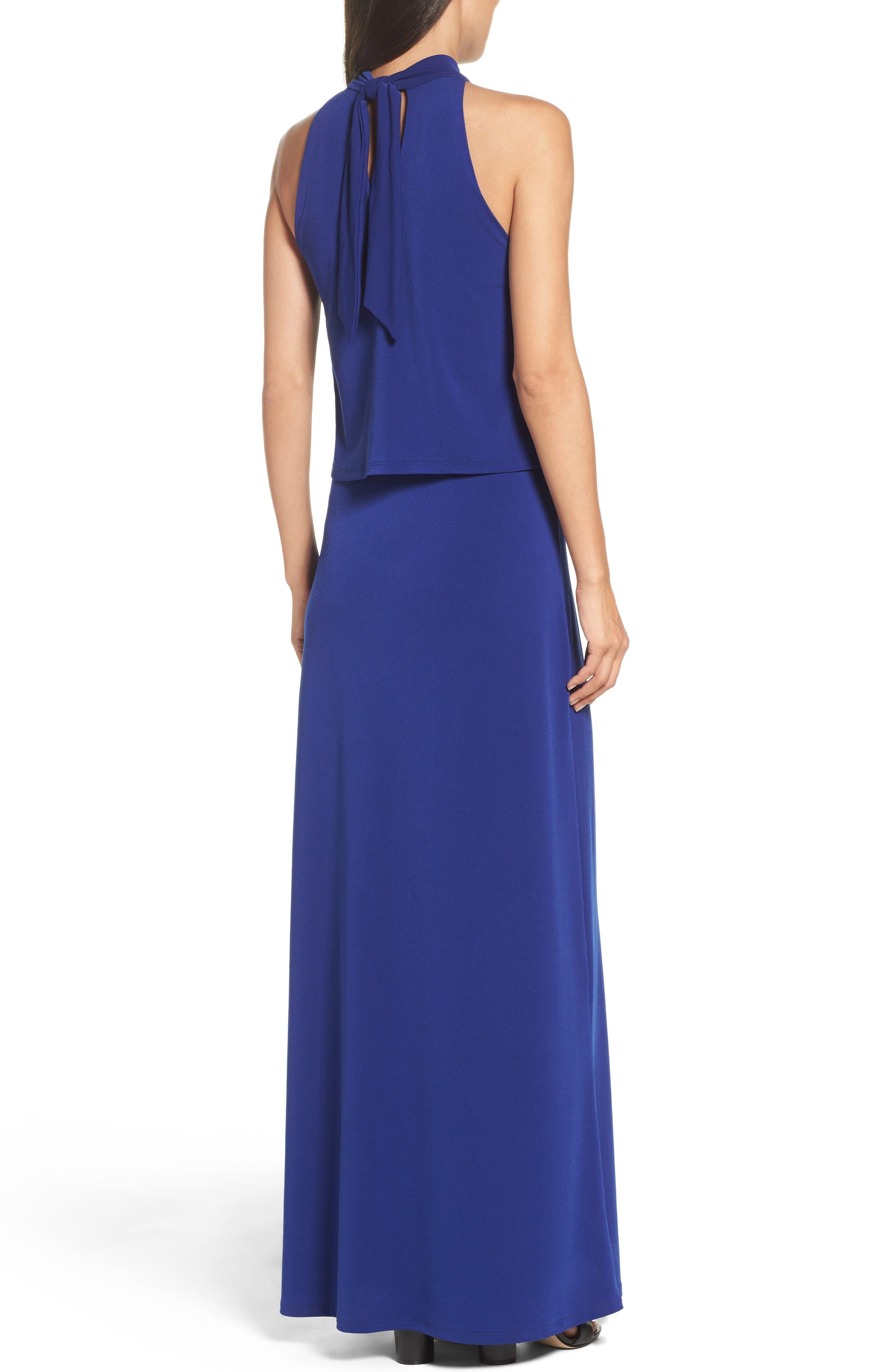 'Syler' Popover Jersey Maxi Dress,                             Alternate thumbnail 2, color,                             415