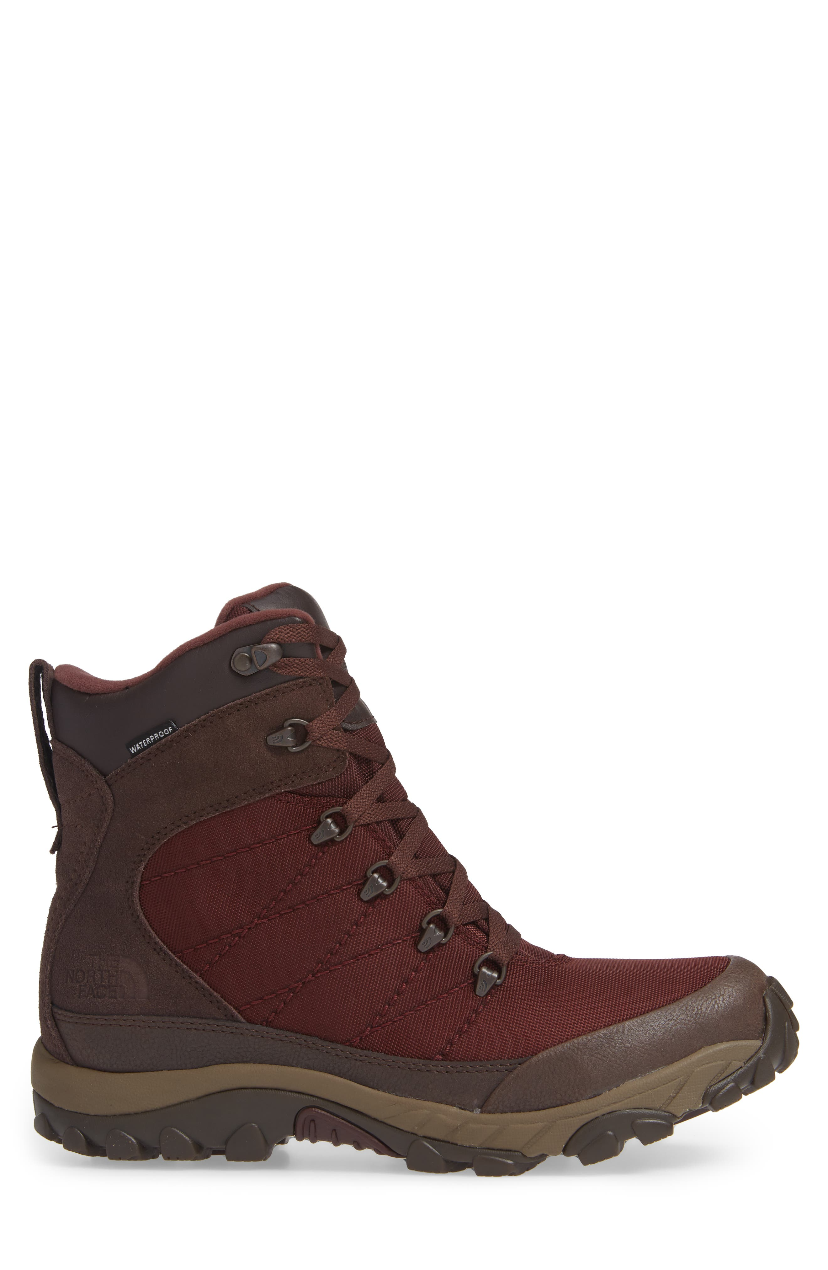 Chilkat Snow Waterproof Boot,                             Alternate thumbnail 3, color,                             BITTER CHOCOLATE BROWN