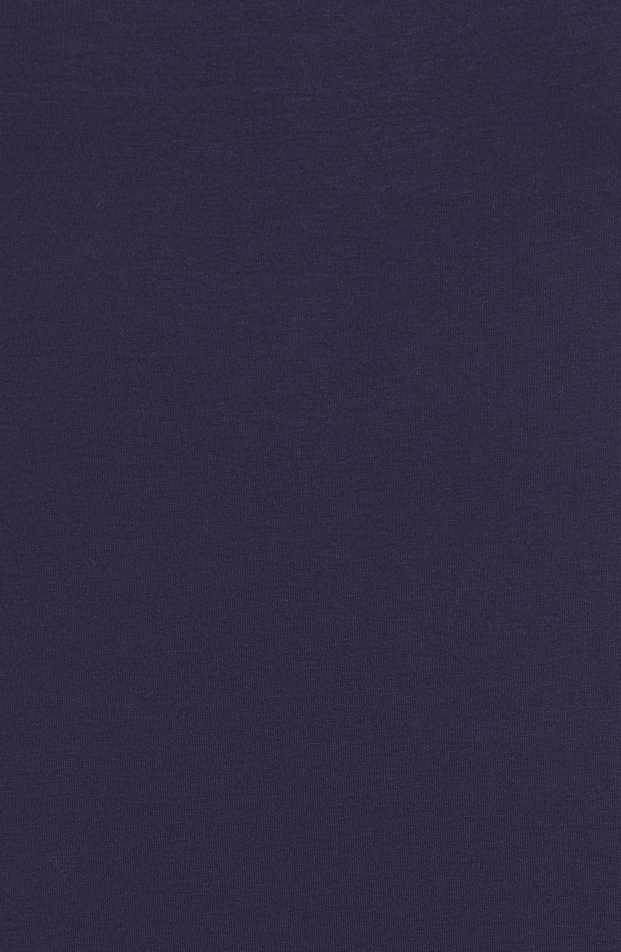 Midi Tank Dress,                             Alternate thumbnail 6, color,                             MIDNIGHT