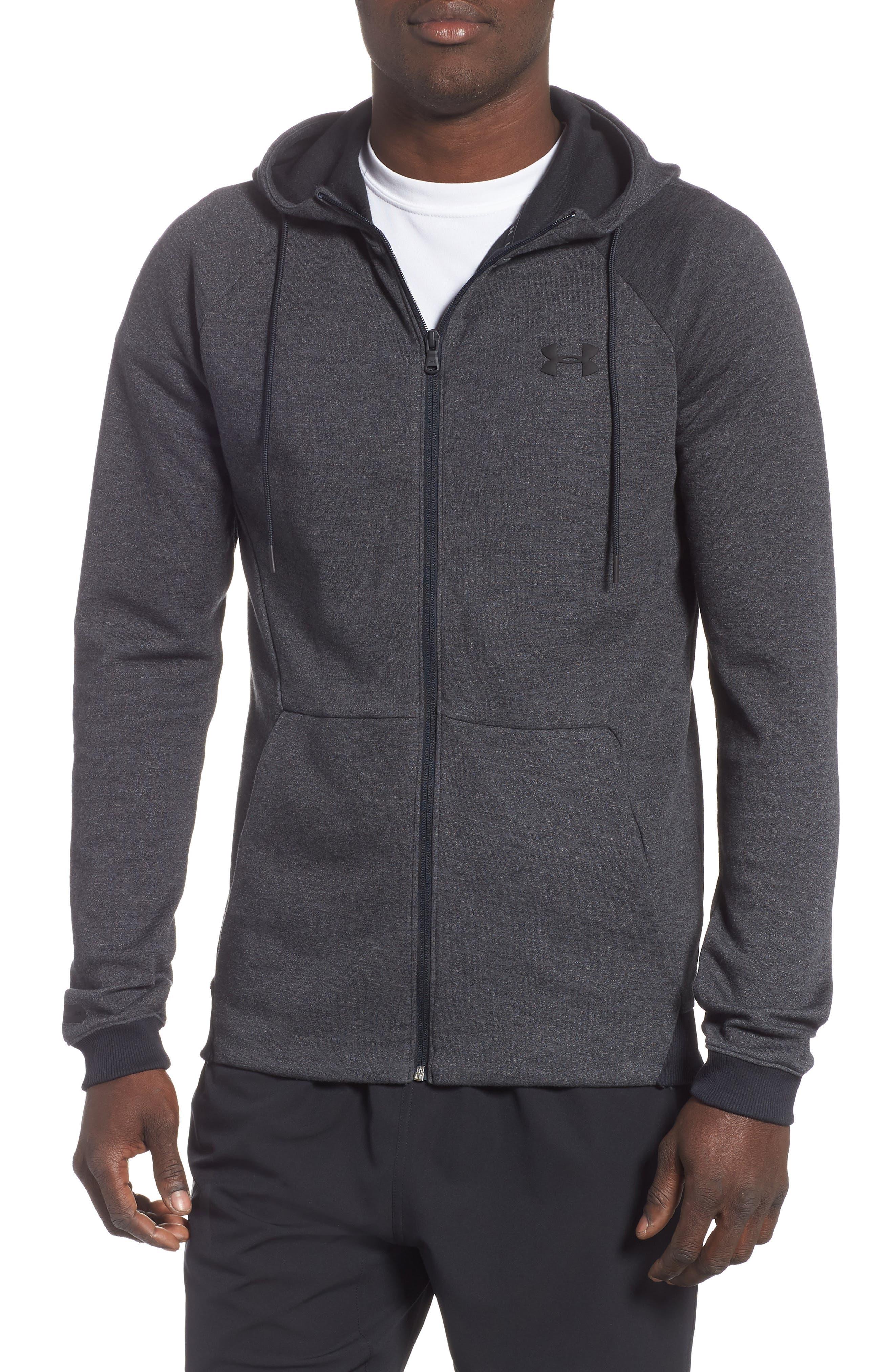 Sportstyle Zip Hoodie,                         Main,                         color, BLACK