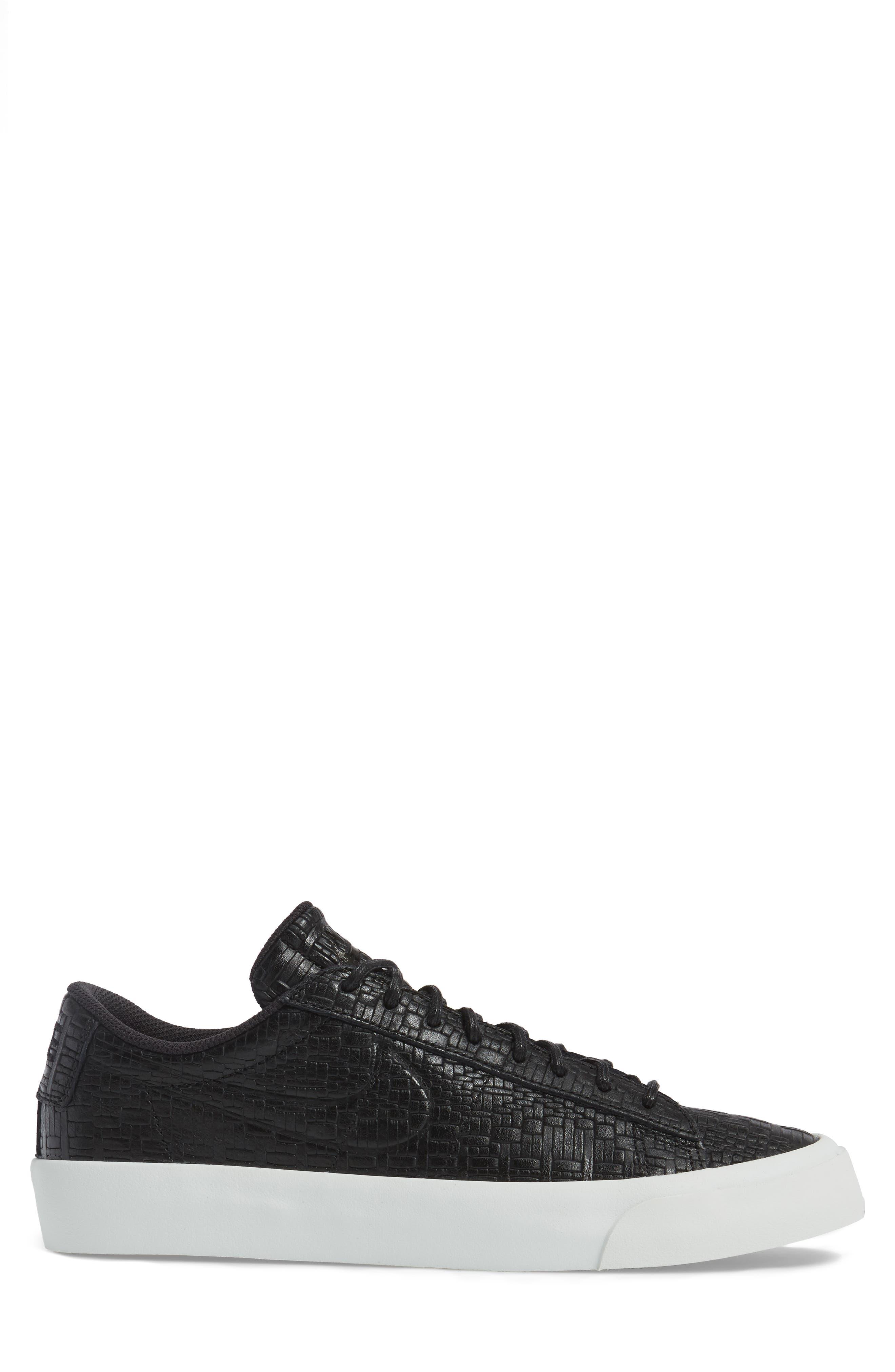 Blazer Studio Sneaker,                             Alternate thumbnail 3, color,                             001