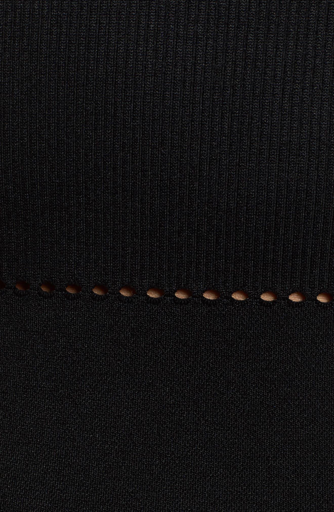 Net Bodysuit,                             Alternate thumbnail 5, color,                             001