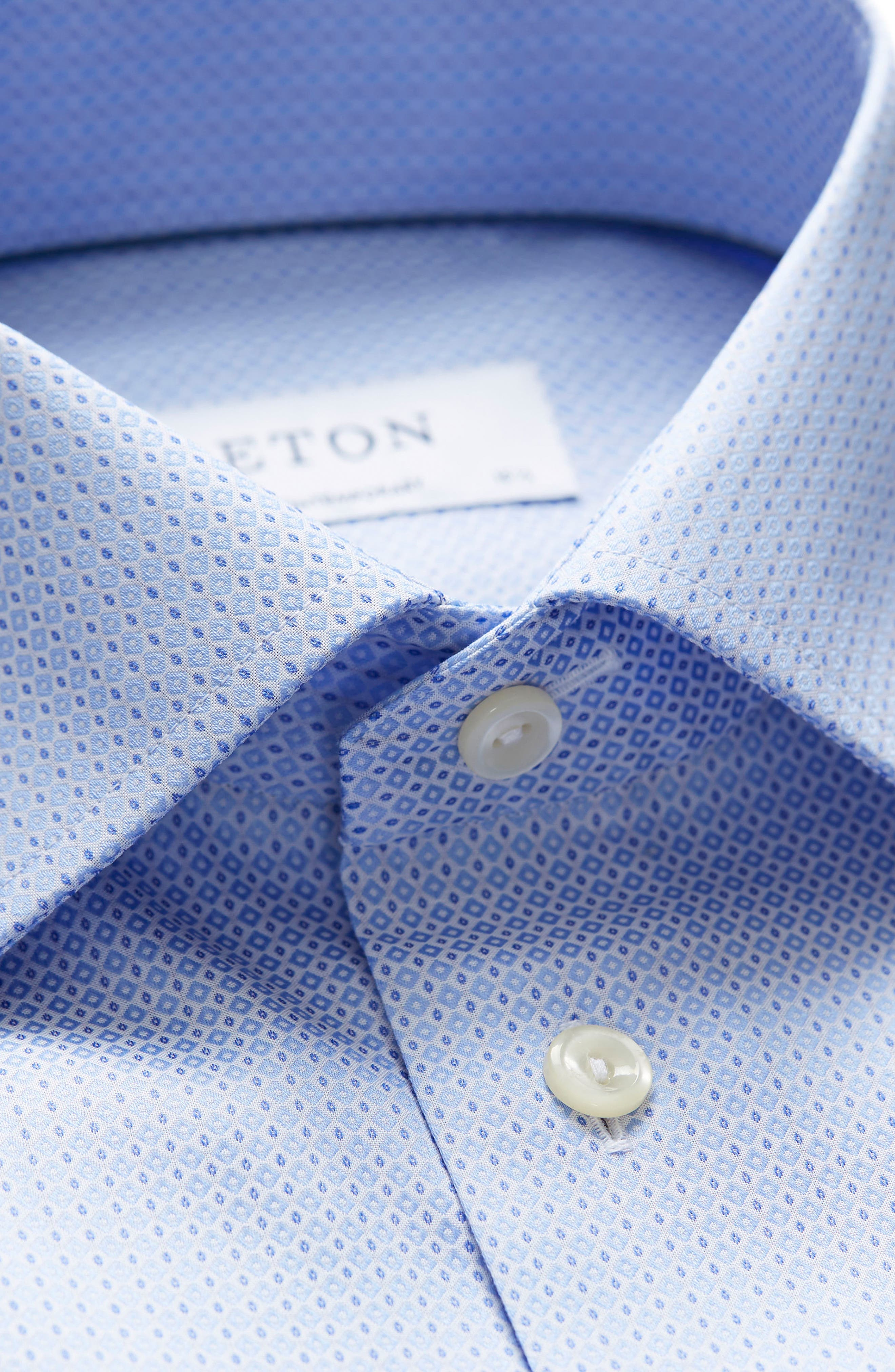 Contemporary Fit Geometric Dress Shirt,                             Alternate thumbnail 4, color,                             400