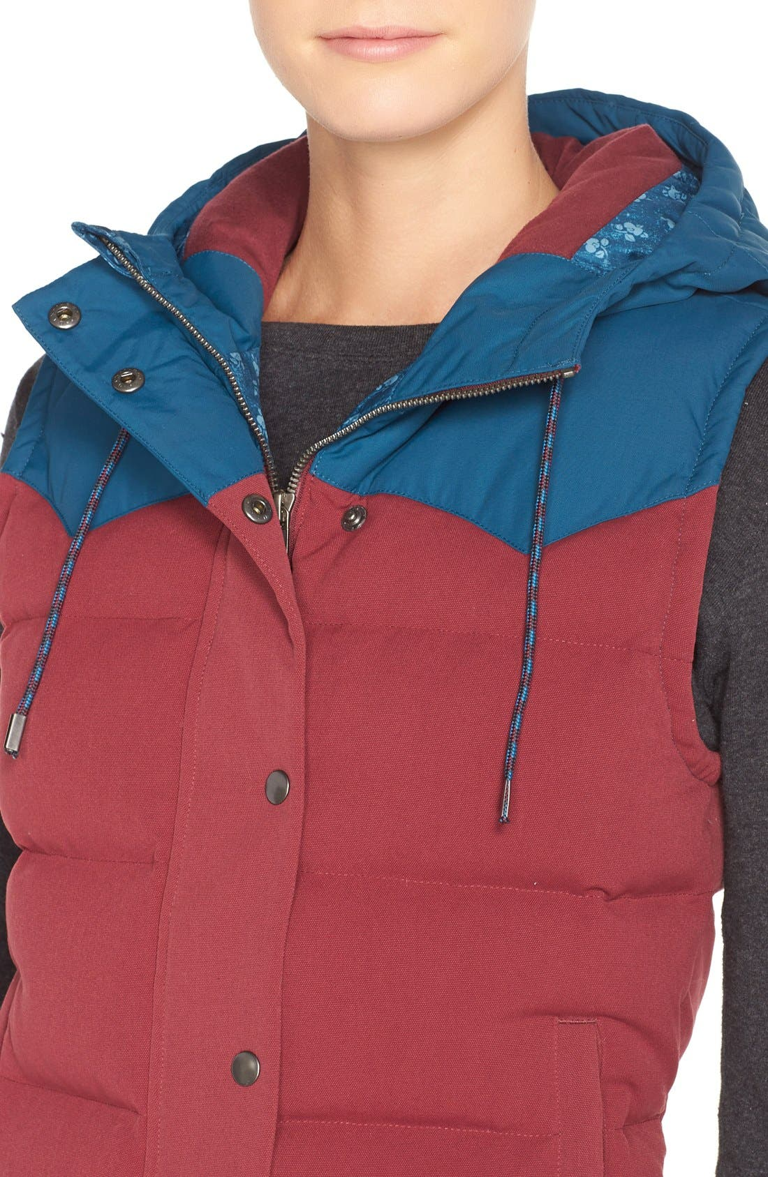 'Bivy' Water Repellent 600 Fill Power Down Vest,                             Alternate thumbnail 35, color,