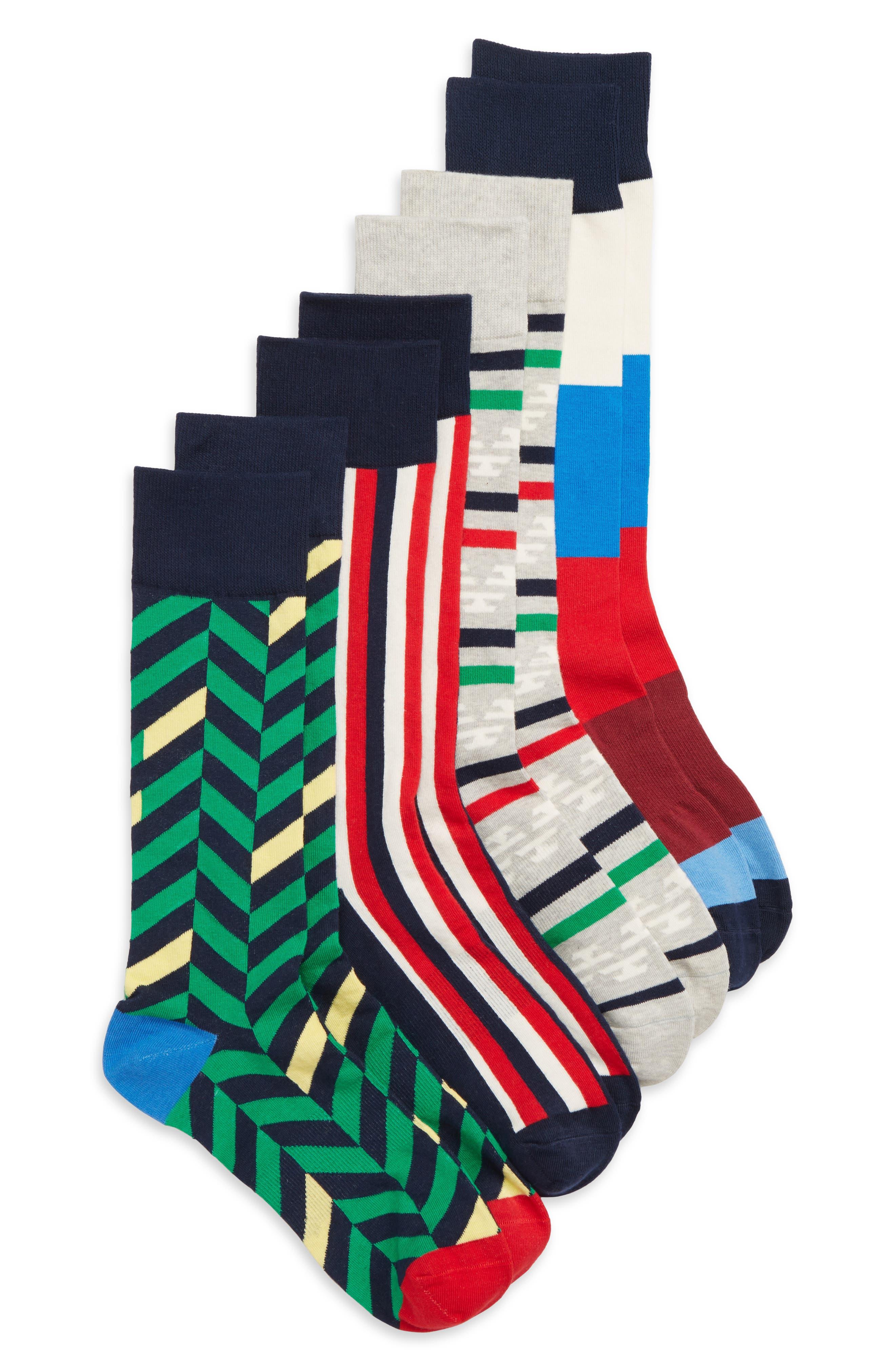 4-Pack Box Set Socks,                             Main thumbnail 1, color,                             400