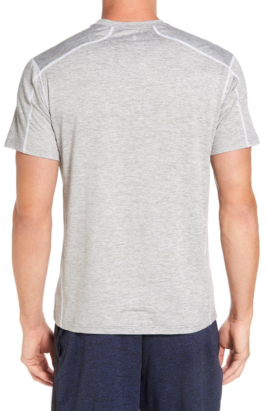 'Cooldown' Moisture Wicking Training T-Shirt,                             Alternate thumbnail 2, color,                             030