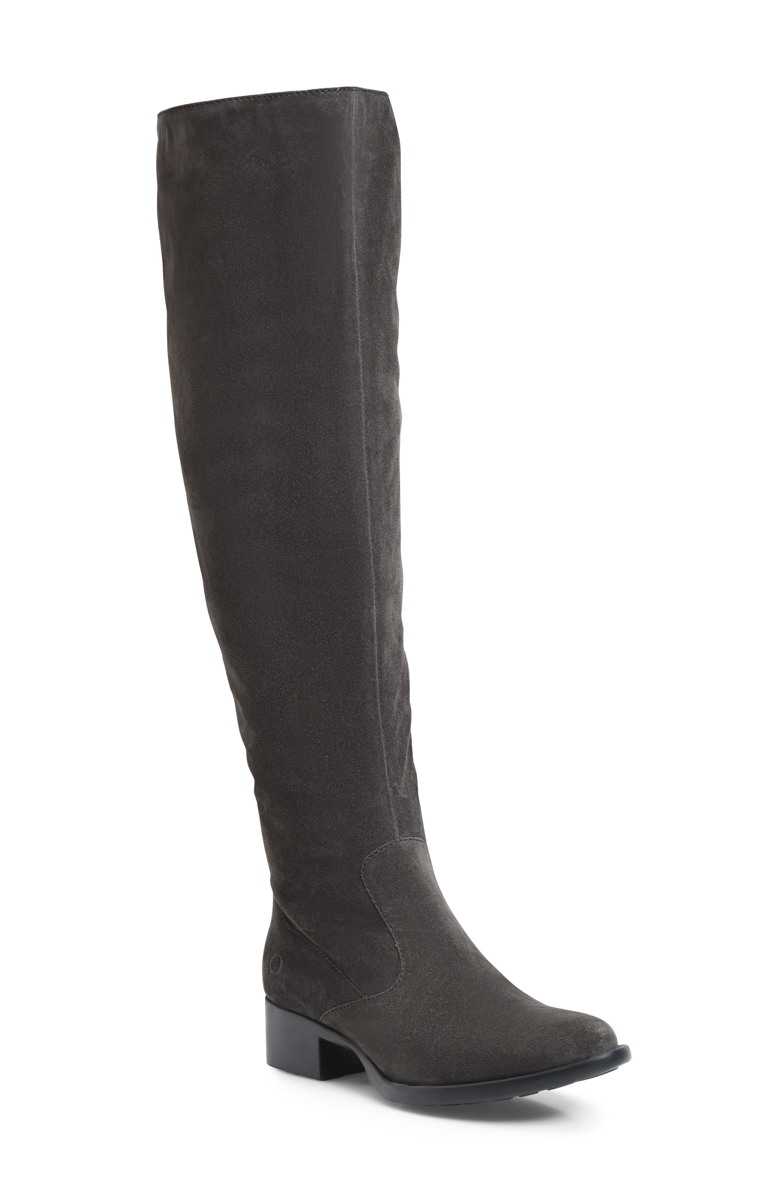 B?rn Cricket Over The Knee Boot- Grey