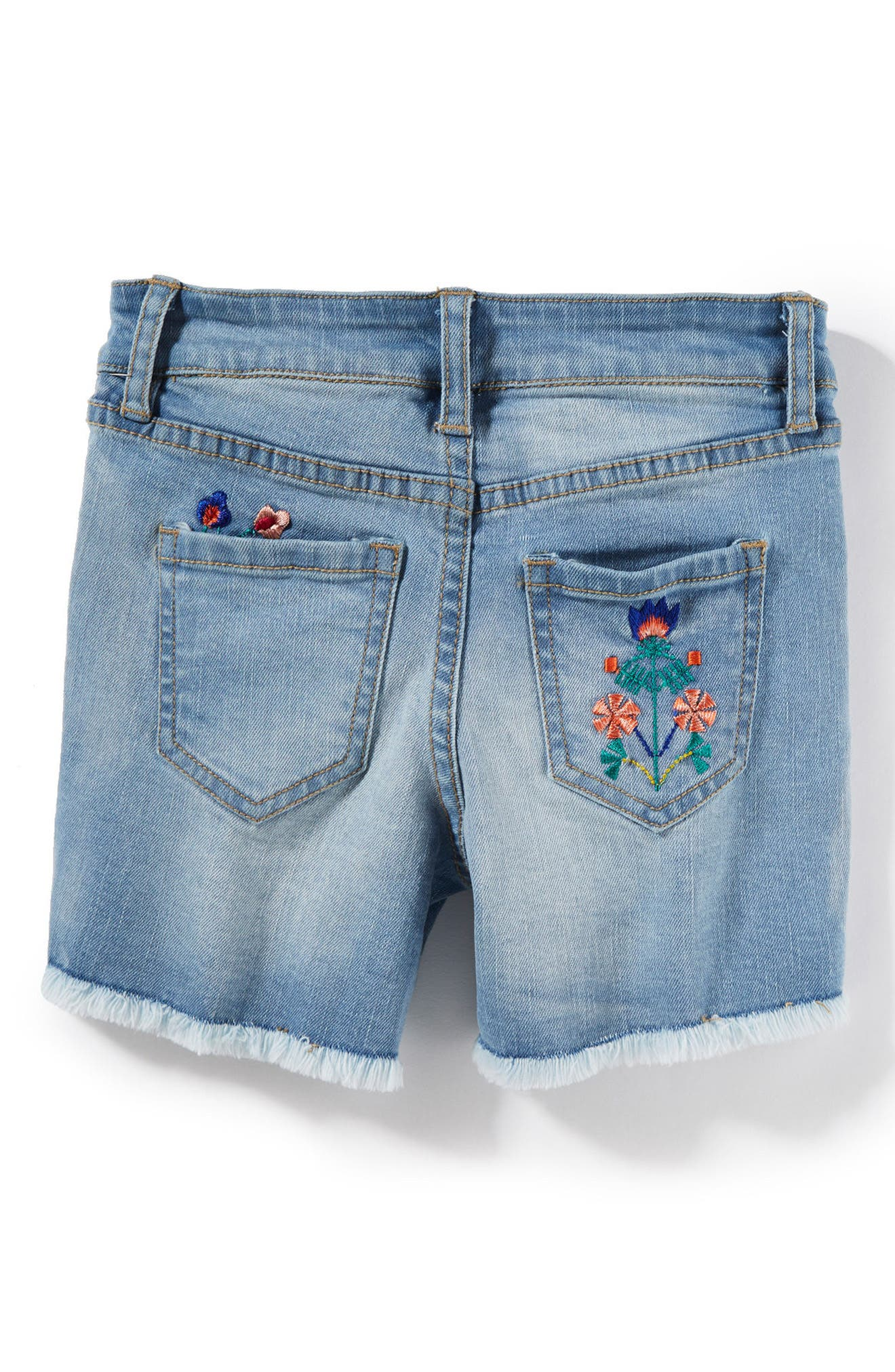 Griffin Embroidered Shorts,                             Alternate thumbnail 2, color,                             453