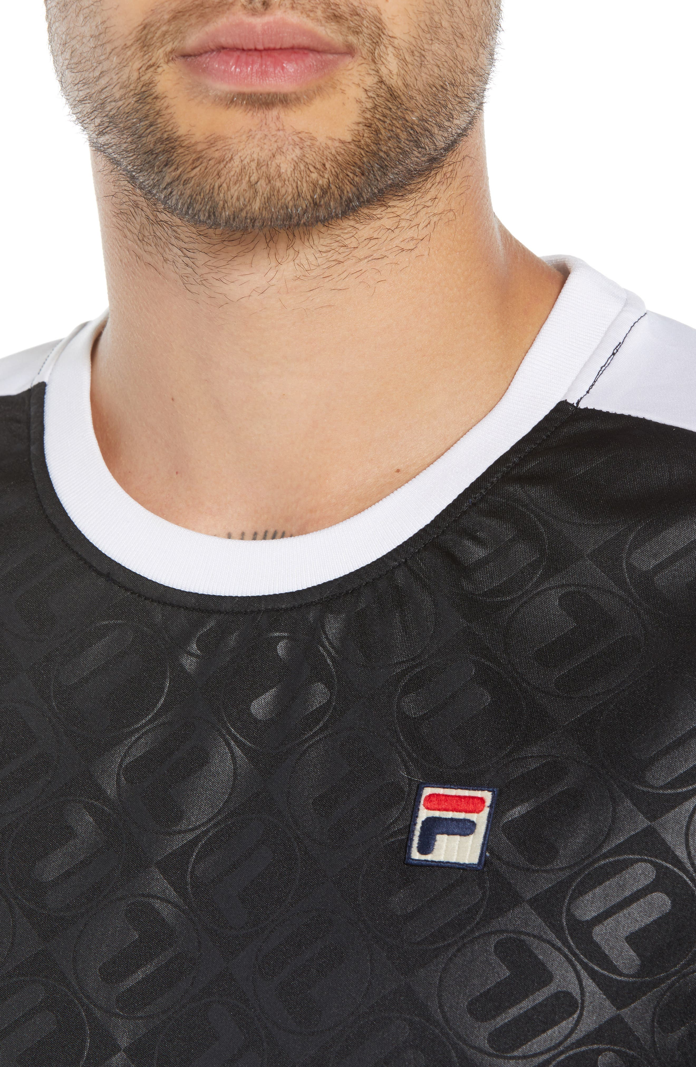 Marc Interlock Soccer T-Shirt,                             Alternate thumbnail 4, color,                             001