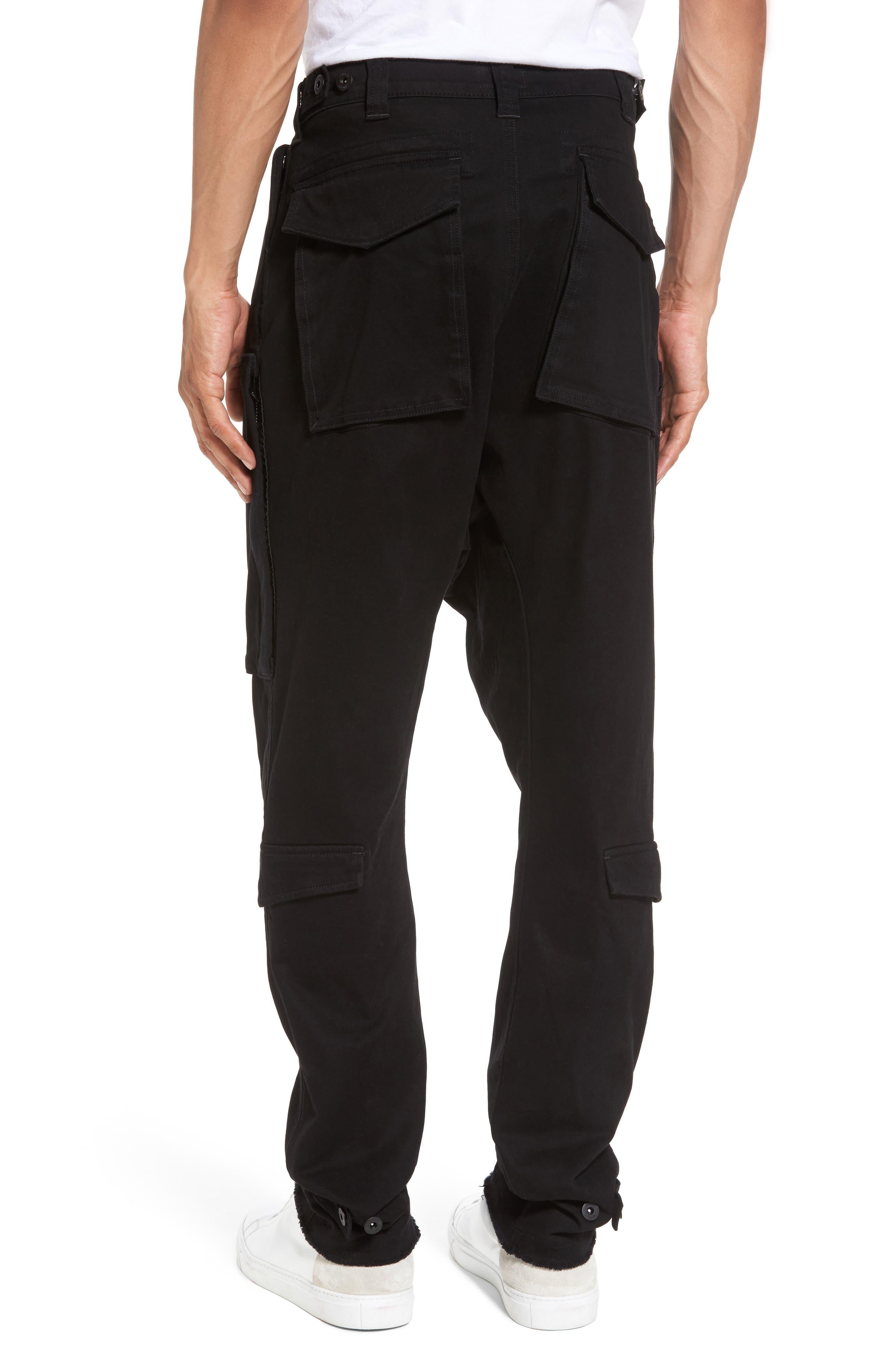 Quint Slouchy Leg Cargo Pants,                             Alternate thumbnail 2, color,                             001