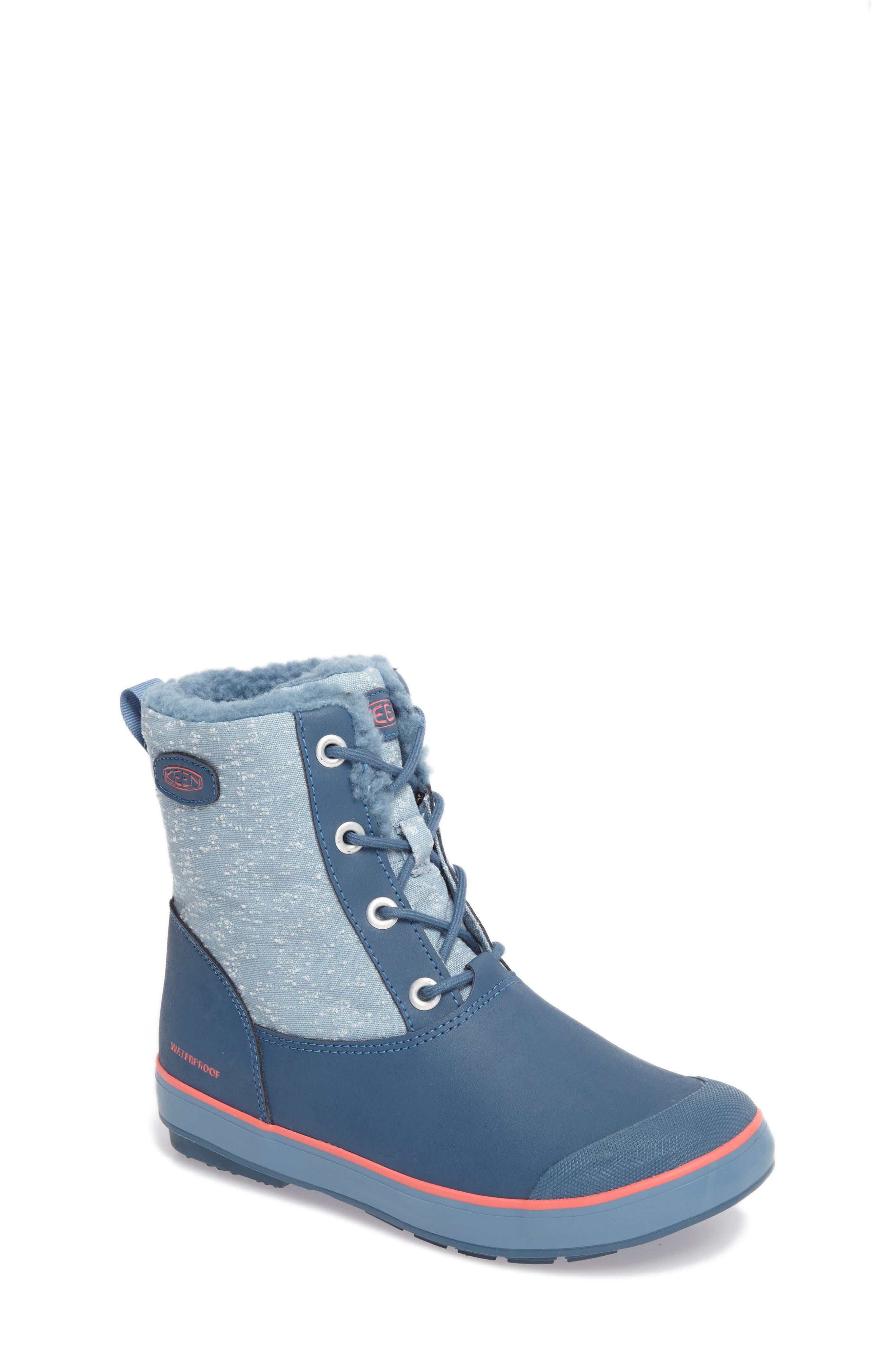 Elsa Waterproof Faux Fur Lined Snow Boot,                             Main thumbnail 3, color,