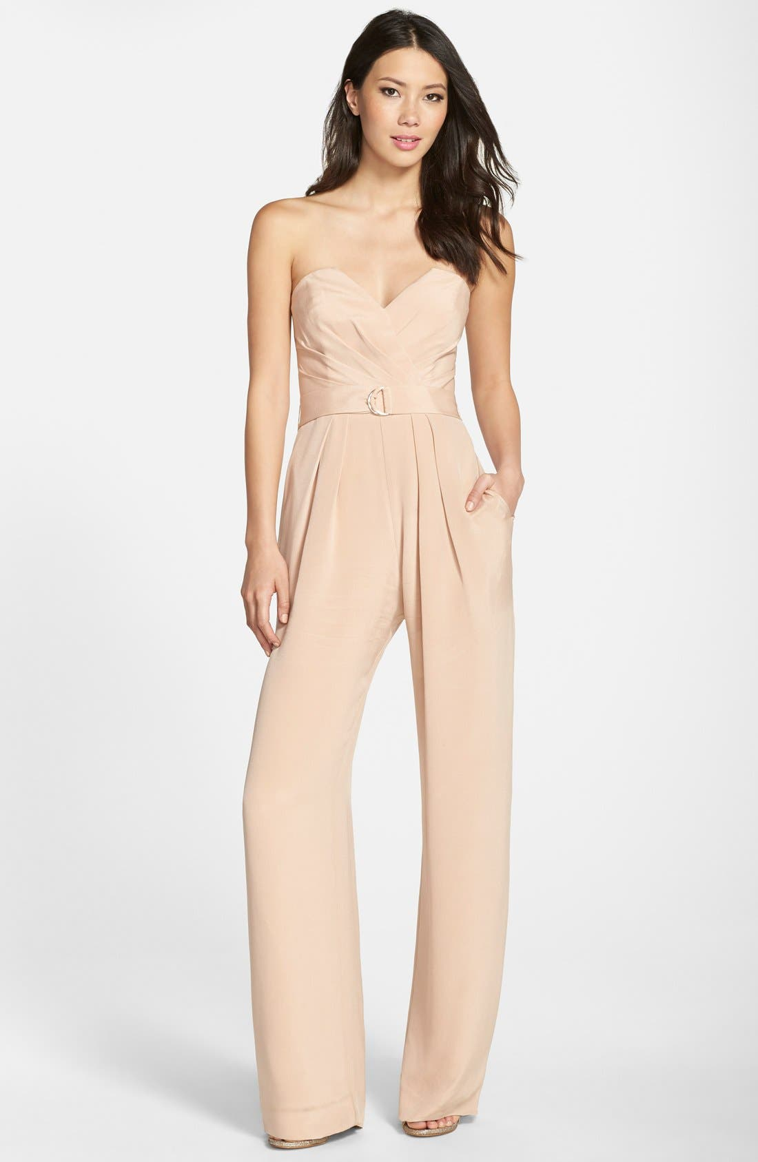 Strapless Jumpsuit,                             Main thumbnail 1, color,                             299