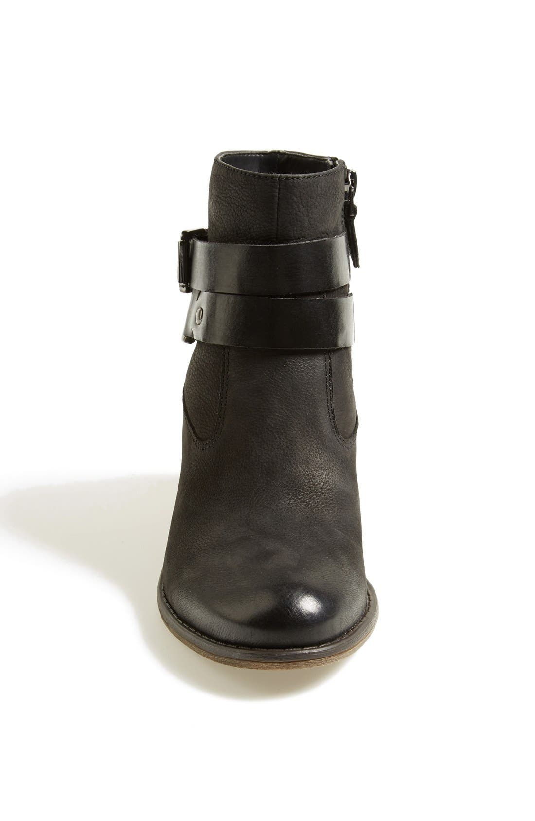 'Linden' Leather Bootie,                             Alternate thumbnail 2, color,                             001