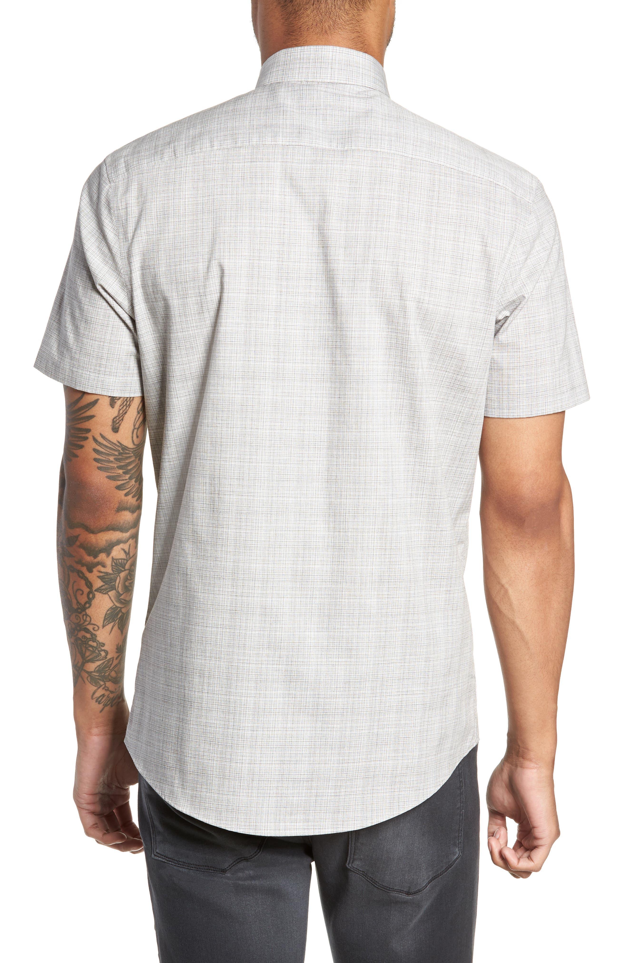 Check Sport Shirt,                             Alternate thumbnail 3, color,                             050