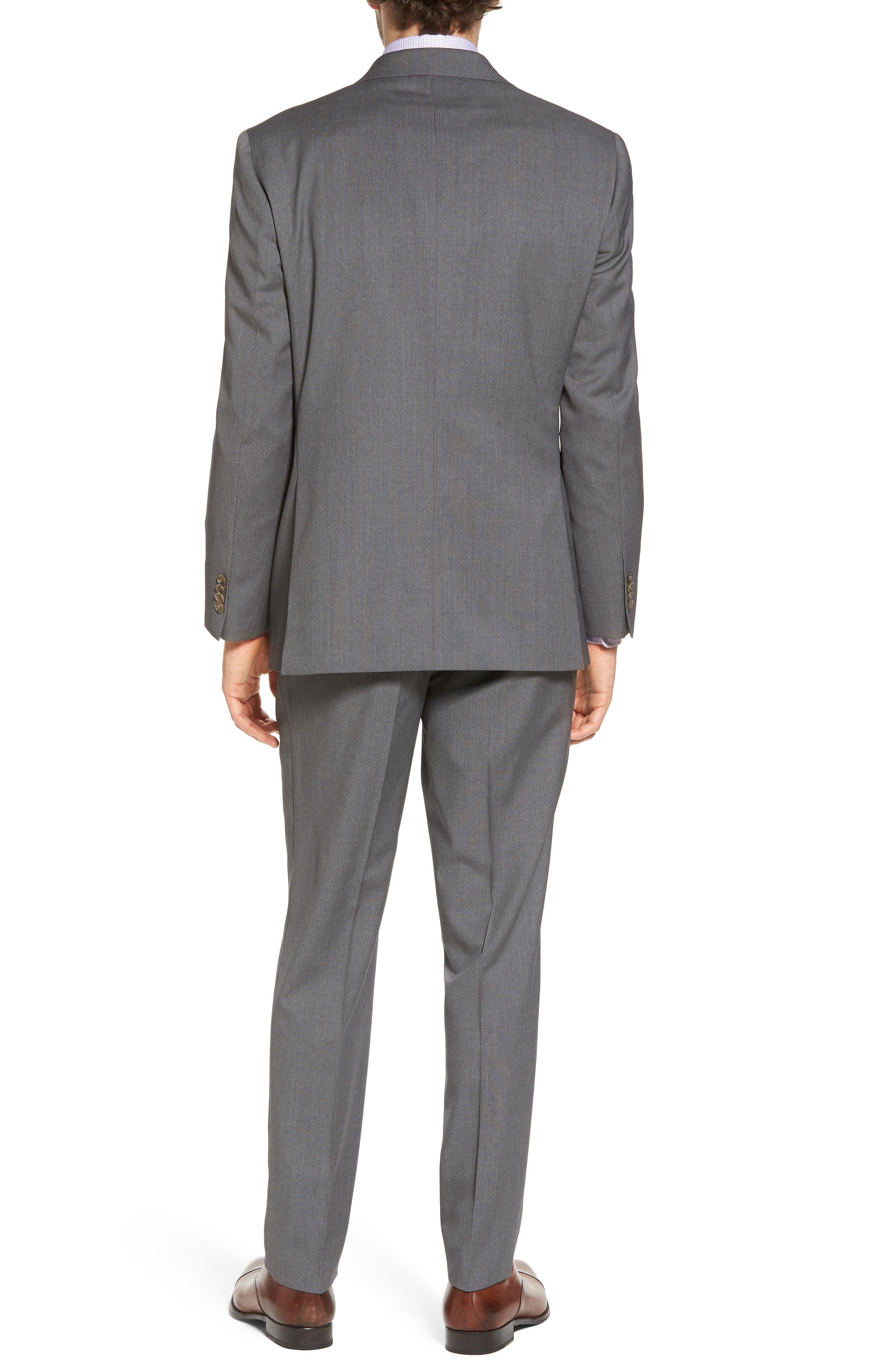 Ryan Classic Fit Stripe Wool Suit,                             Alternate thumbnail 2, color,                             030