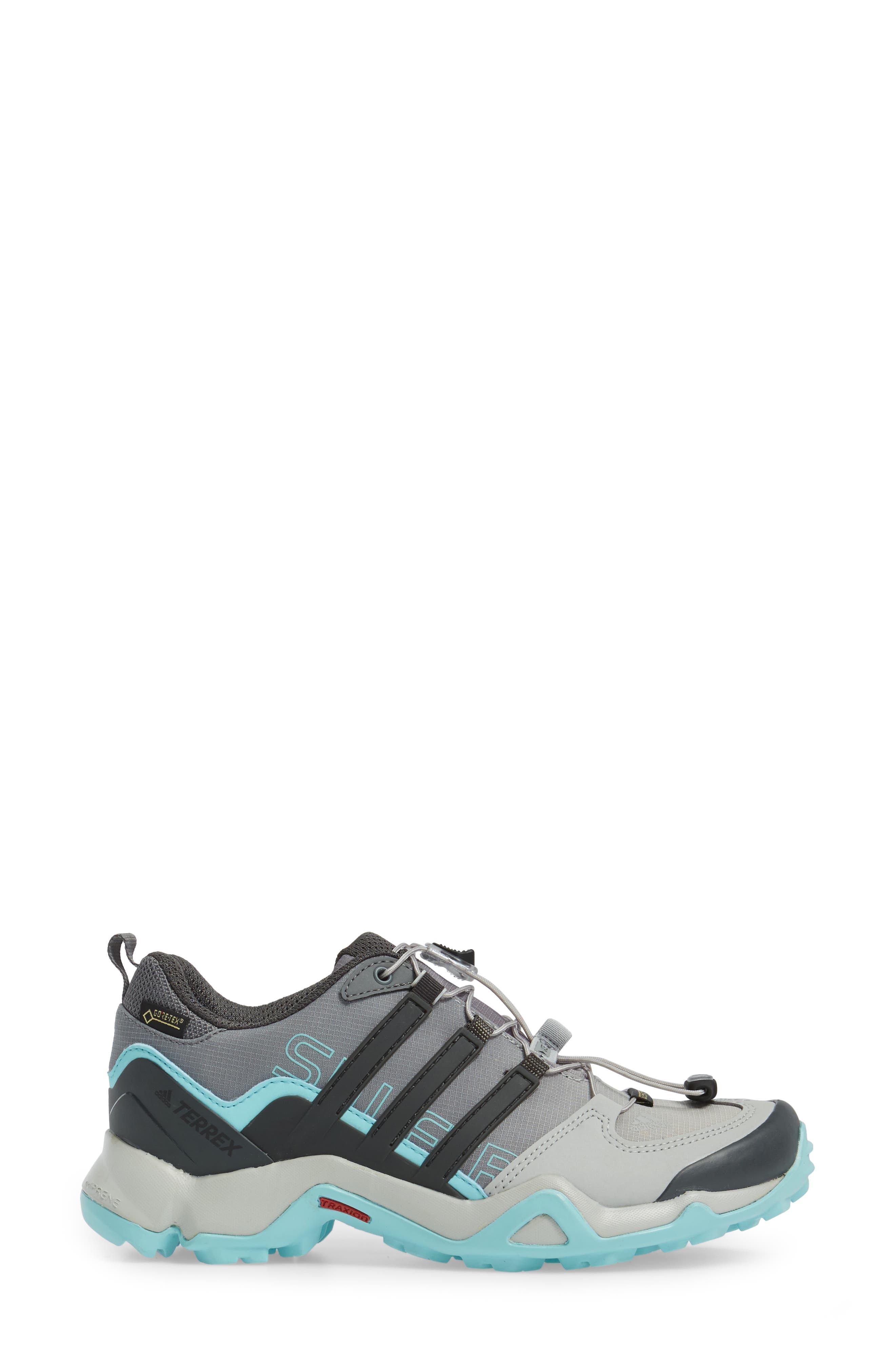 Terrex Swift R GTX Hiking Shoe,                             Alternate thumbnail 3, color,                             020