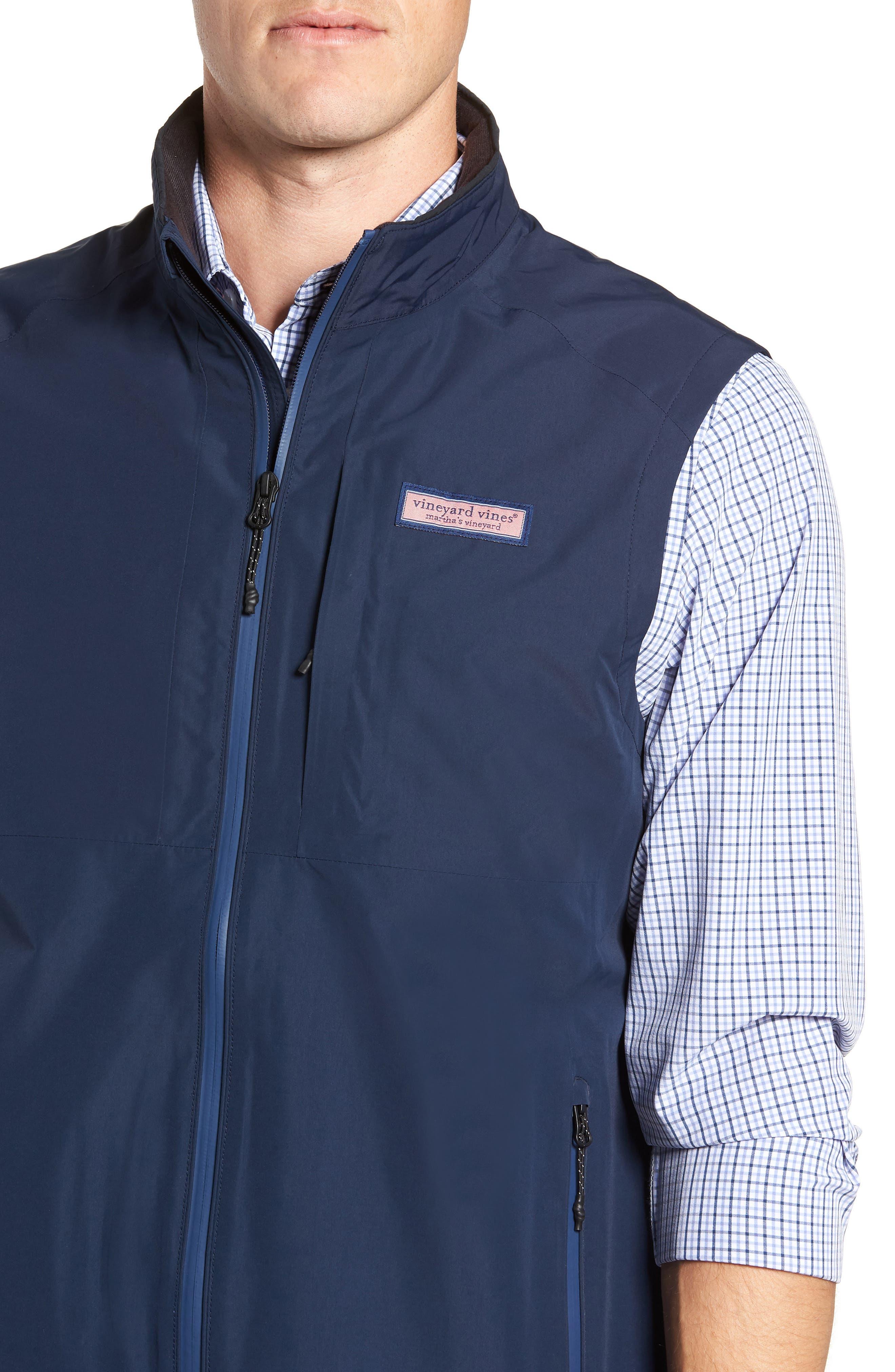 Tech Windbreaker Vest,                             Alternate thumbnail 4, color,                             410