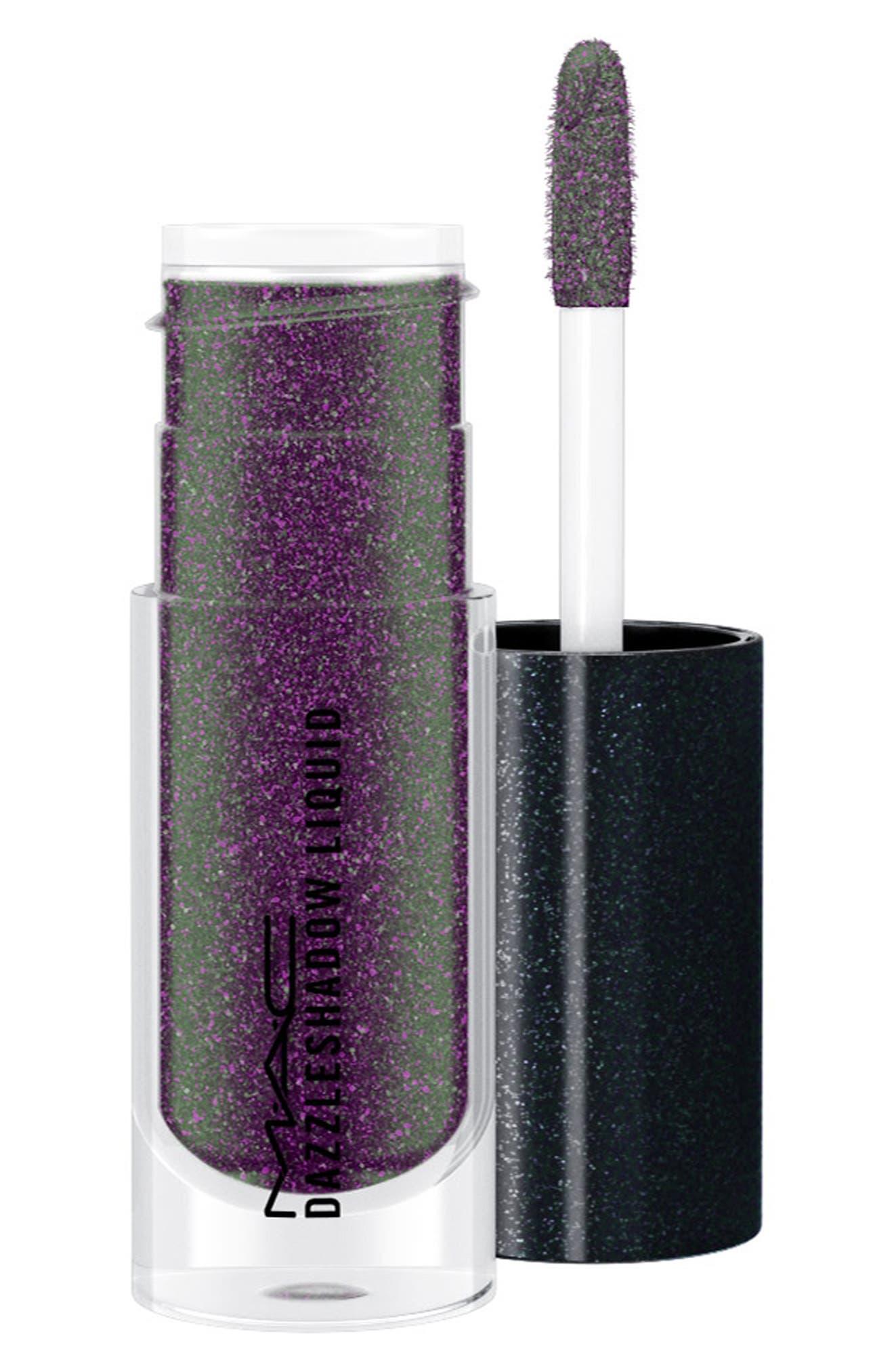 MAC COSMETICS,                             MAC Dazzleshadow Liquid Eyeshadow,                             Main thumbnail 1, color,                             PANTHERTIZED (SHIMMER)