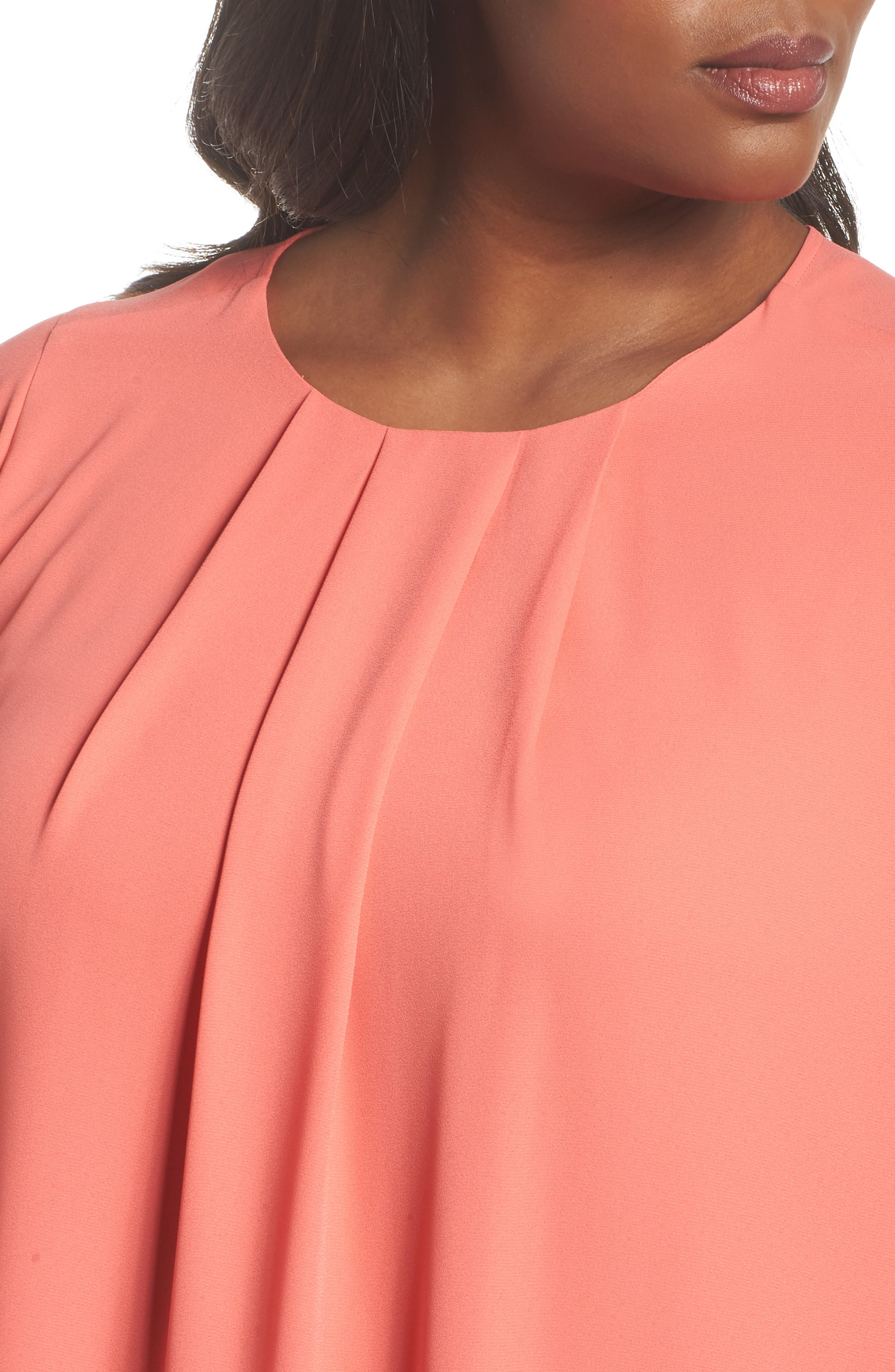 Pleated Blouse,                             Alternate thumbnail 8, color,