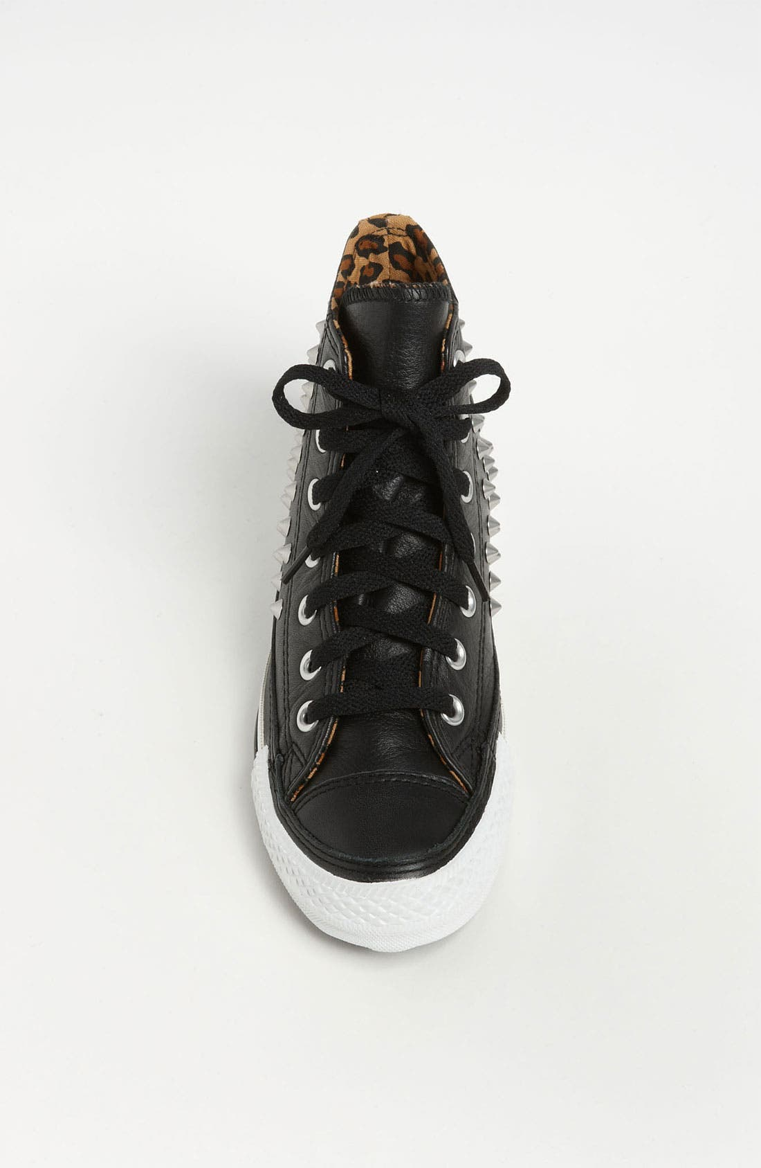 Chuck Taylor<sup>®</sup> All Star<sup>®</sup> Studded High Top Sneaker,                             Alternate thumbnail 3, color,                             001