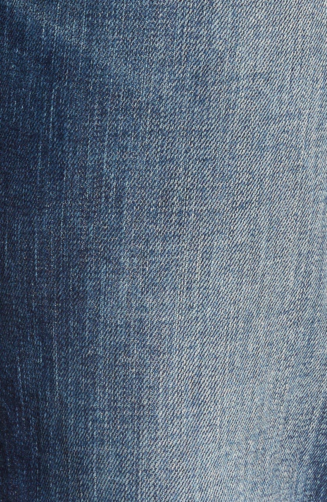 'Union' Straight Leg Jeans,                             Alternate thumbnail 5, color,                             423