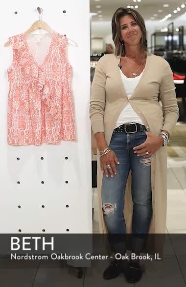 Ruffle Knit Top, sales video thumbnail
