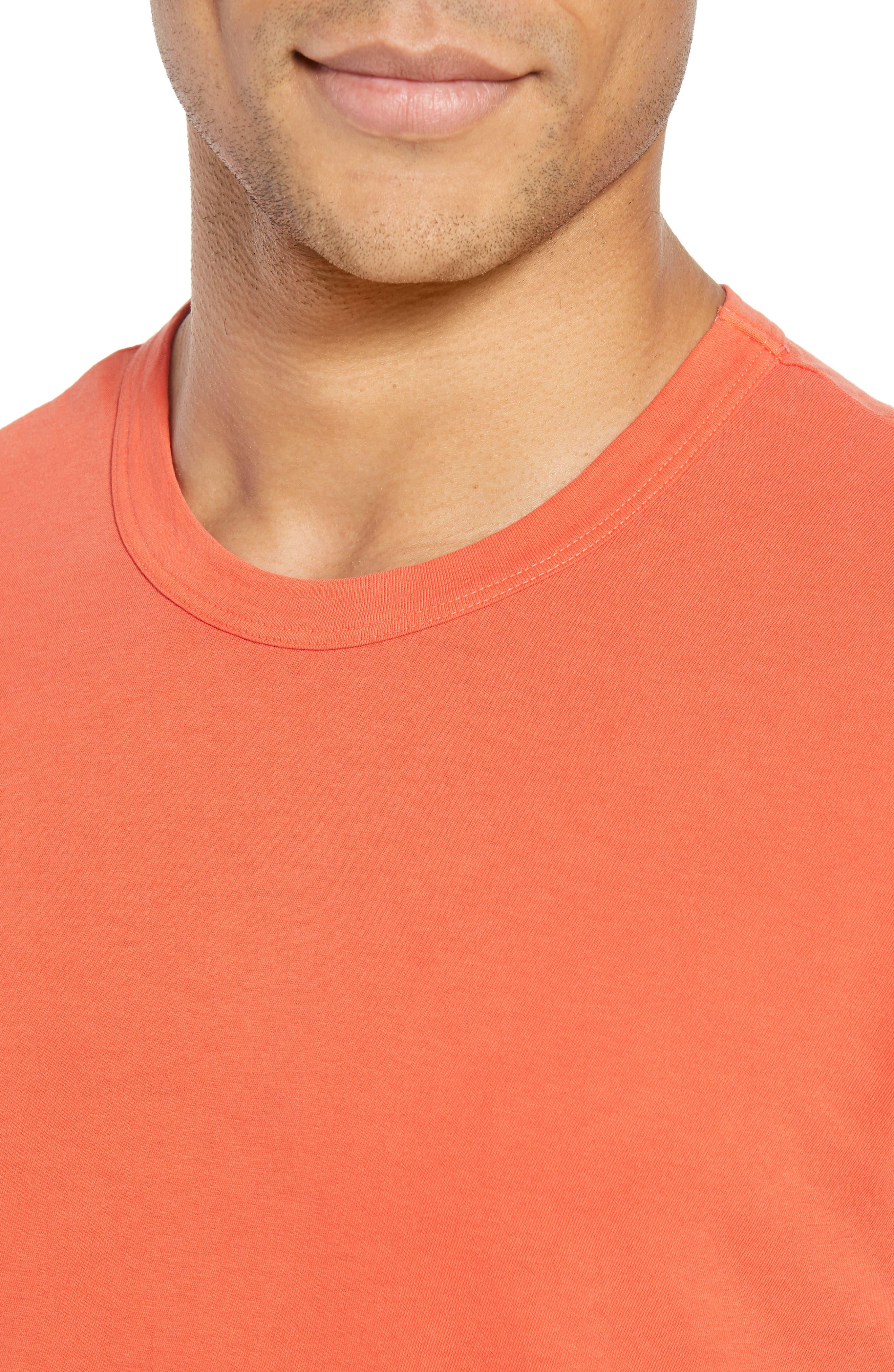 Crewneck Jersey T-Shirt,                             Alternate thumbnail 406, color,