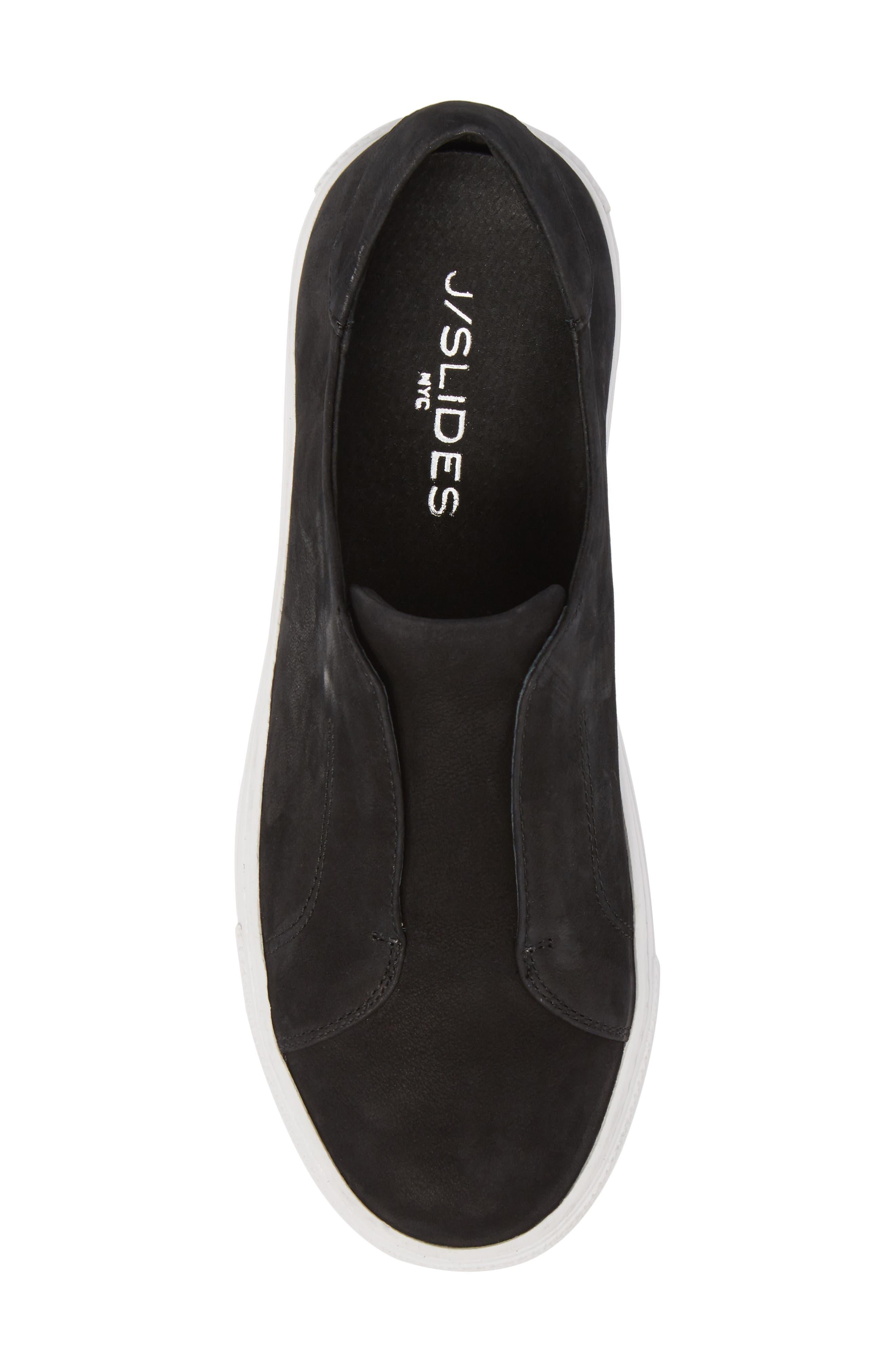 Spazo Slip-On Platform Sneaker,                             Alternate thumbnail 5, color,                             001