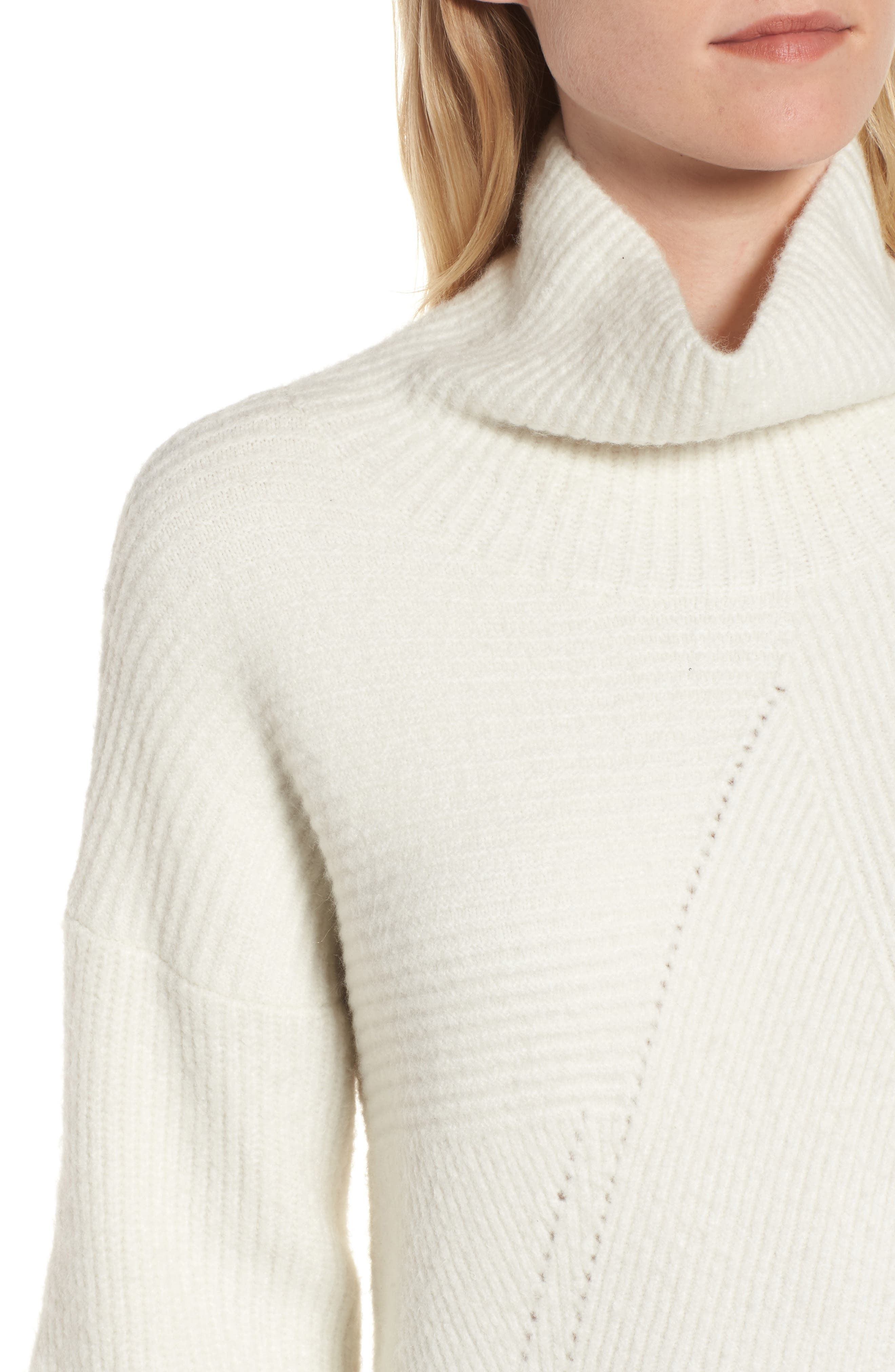 Funnel Neck Sweater,                             Alternate thumbnail 4, color,                             900