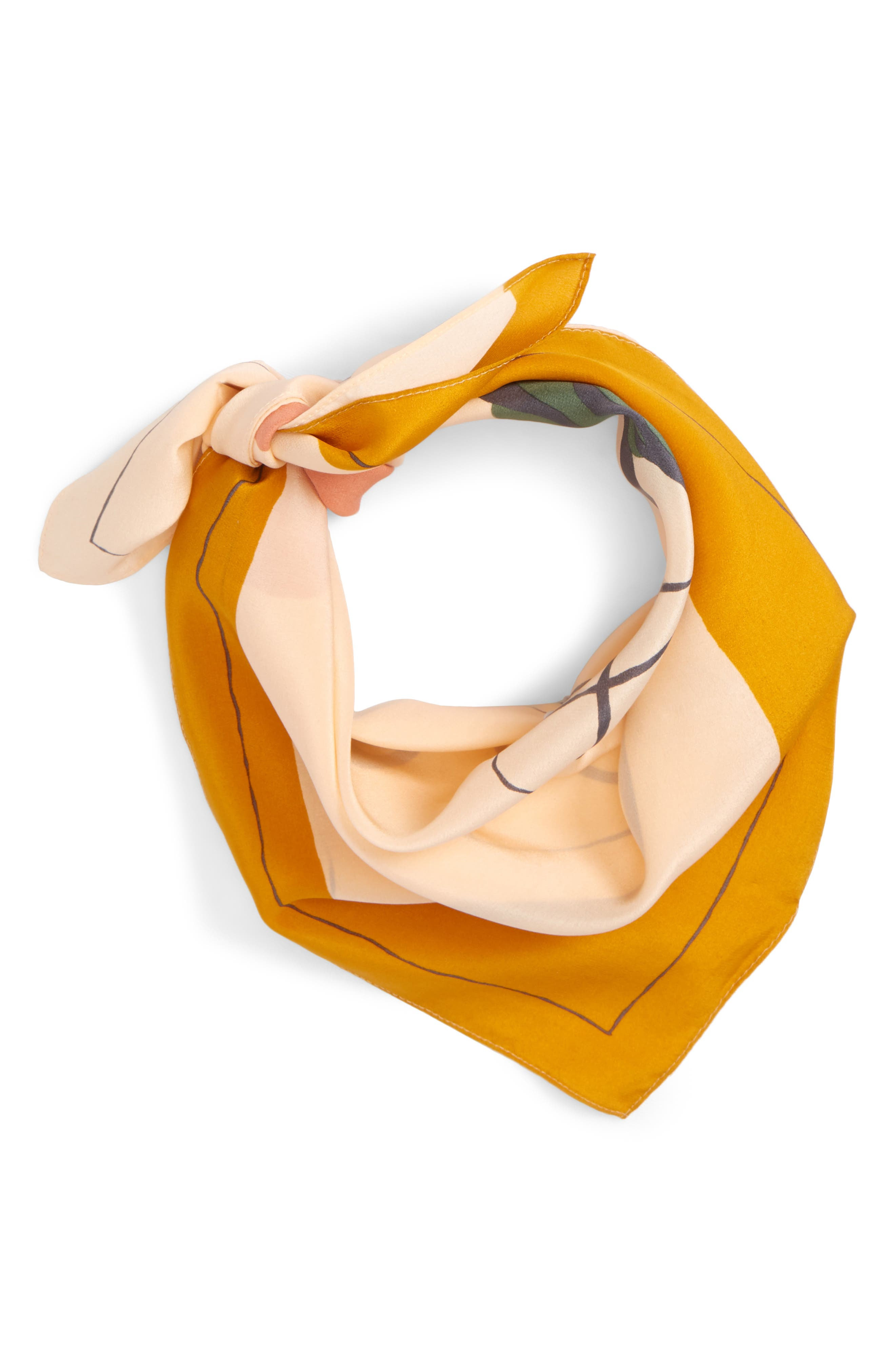 Silk Bandana,                             Main thumbnail 7, color,