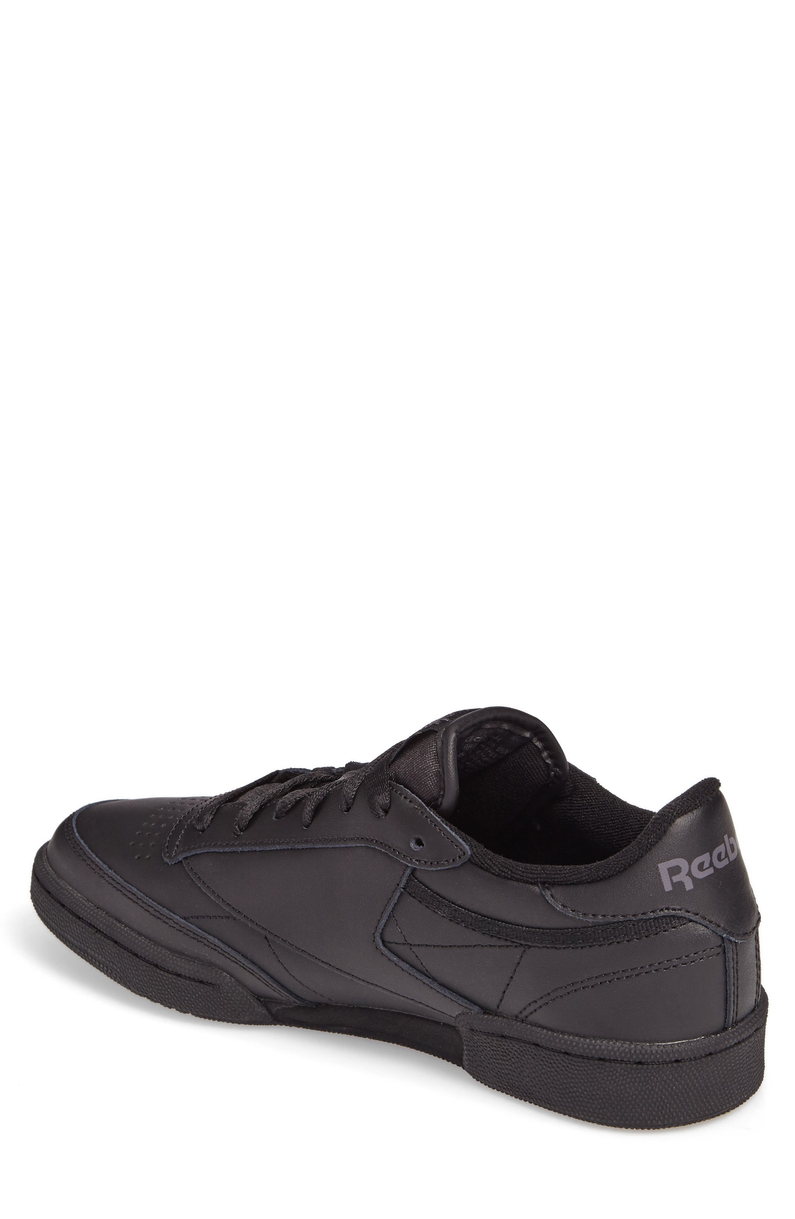 Club C 85 Sneaker,                             Alternate thumbnail 2, color,                             BLACK/ CHARCOAL